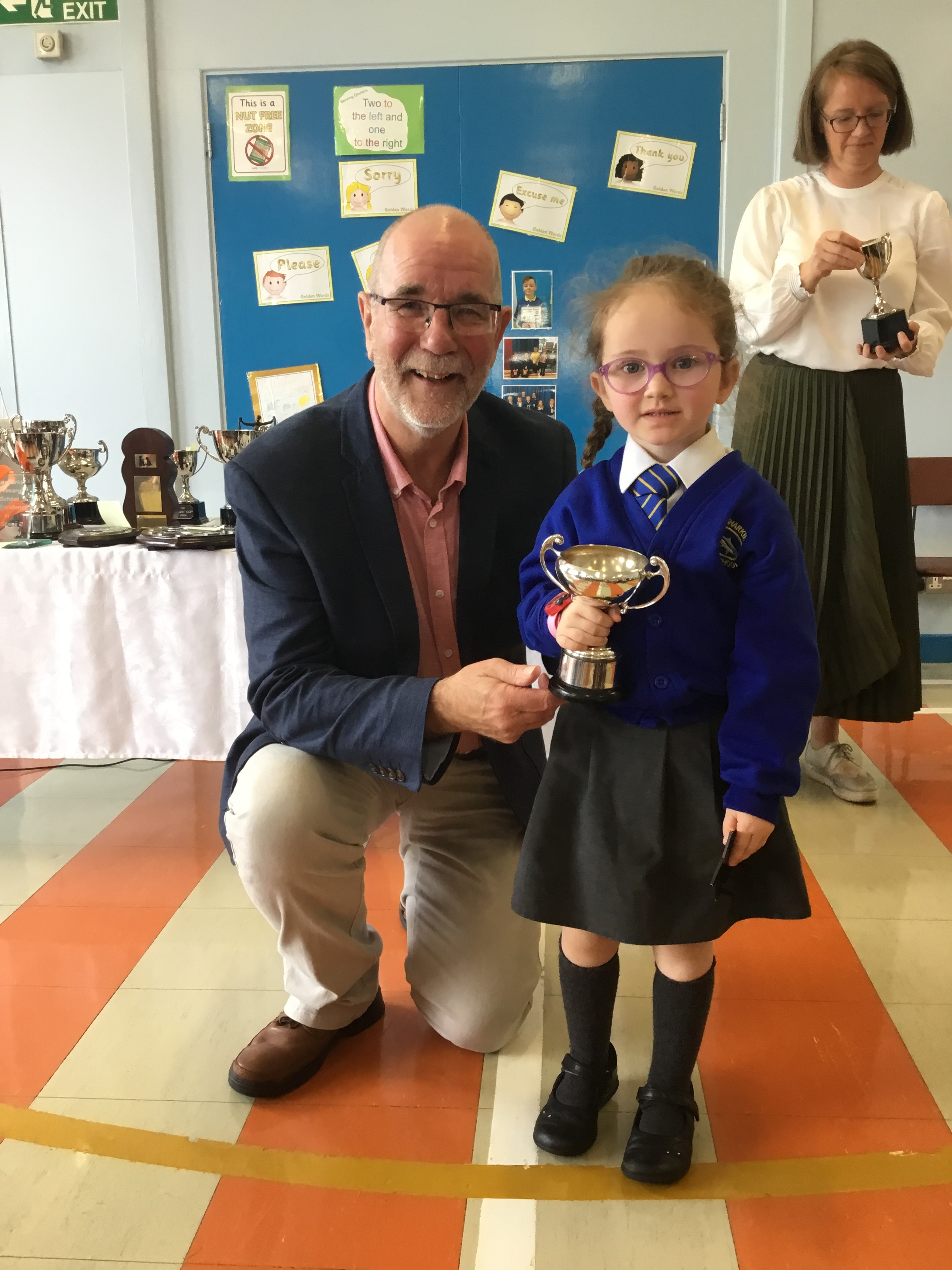 Joy - McConaghy Cup for P1 Endeavour