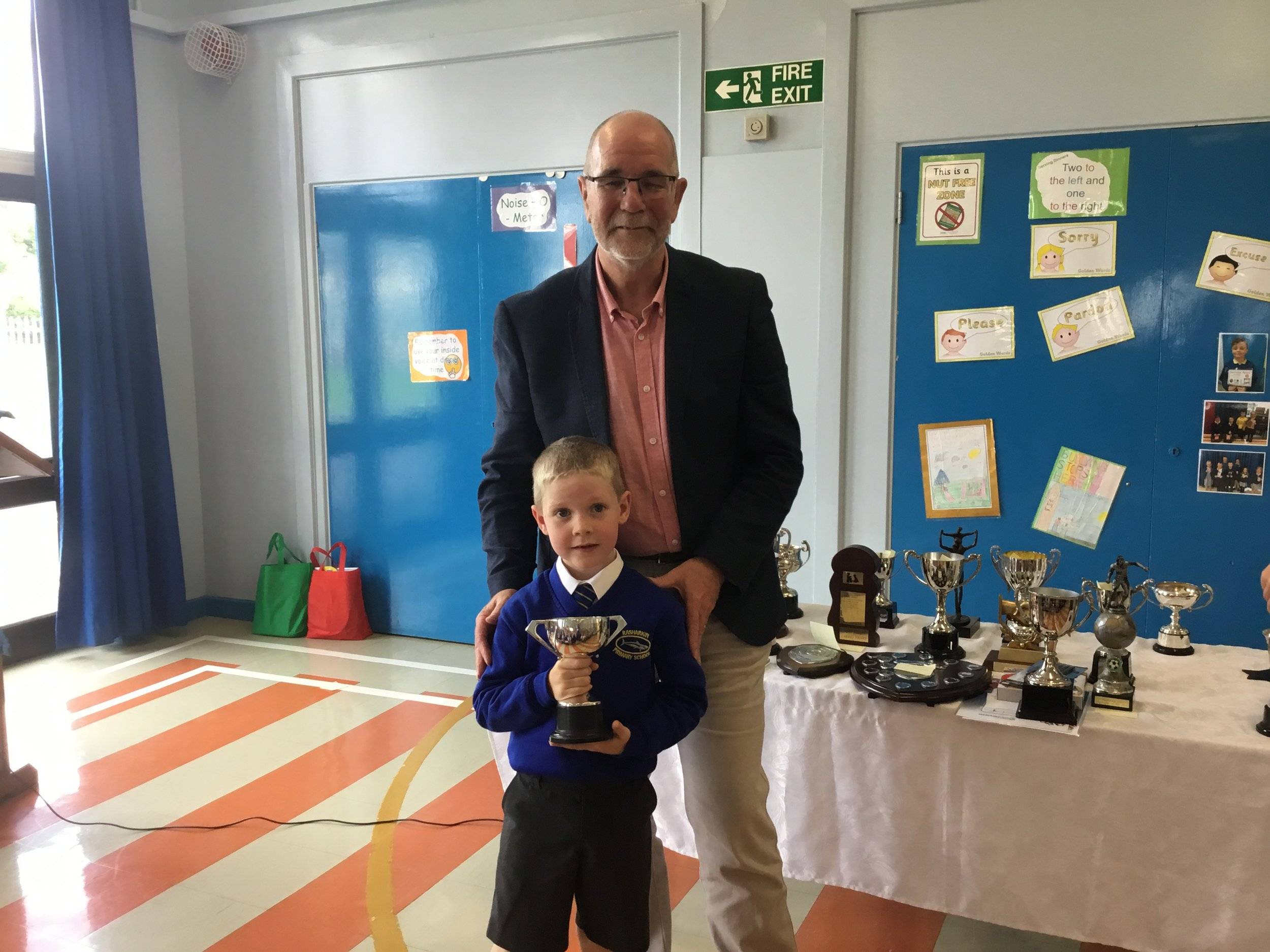 Mark - Kitchen Staff Cup for P1/2 Sports