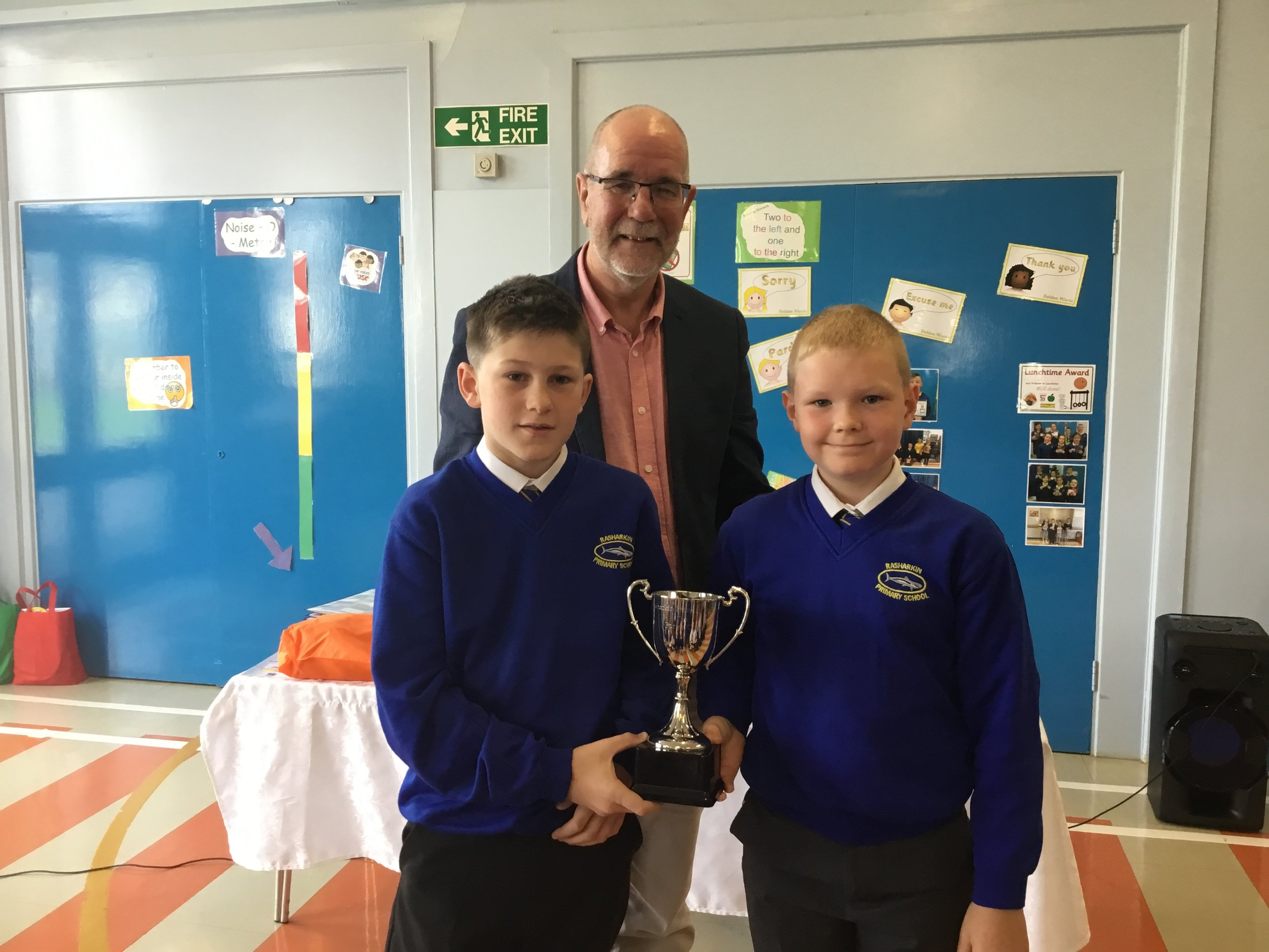 Oliver and Ryan - Porter Cup for P5 Sports