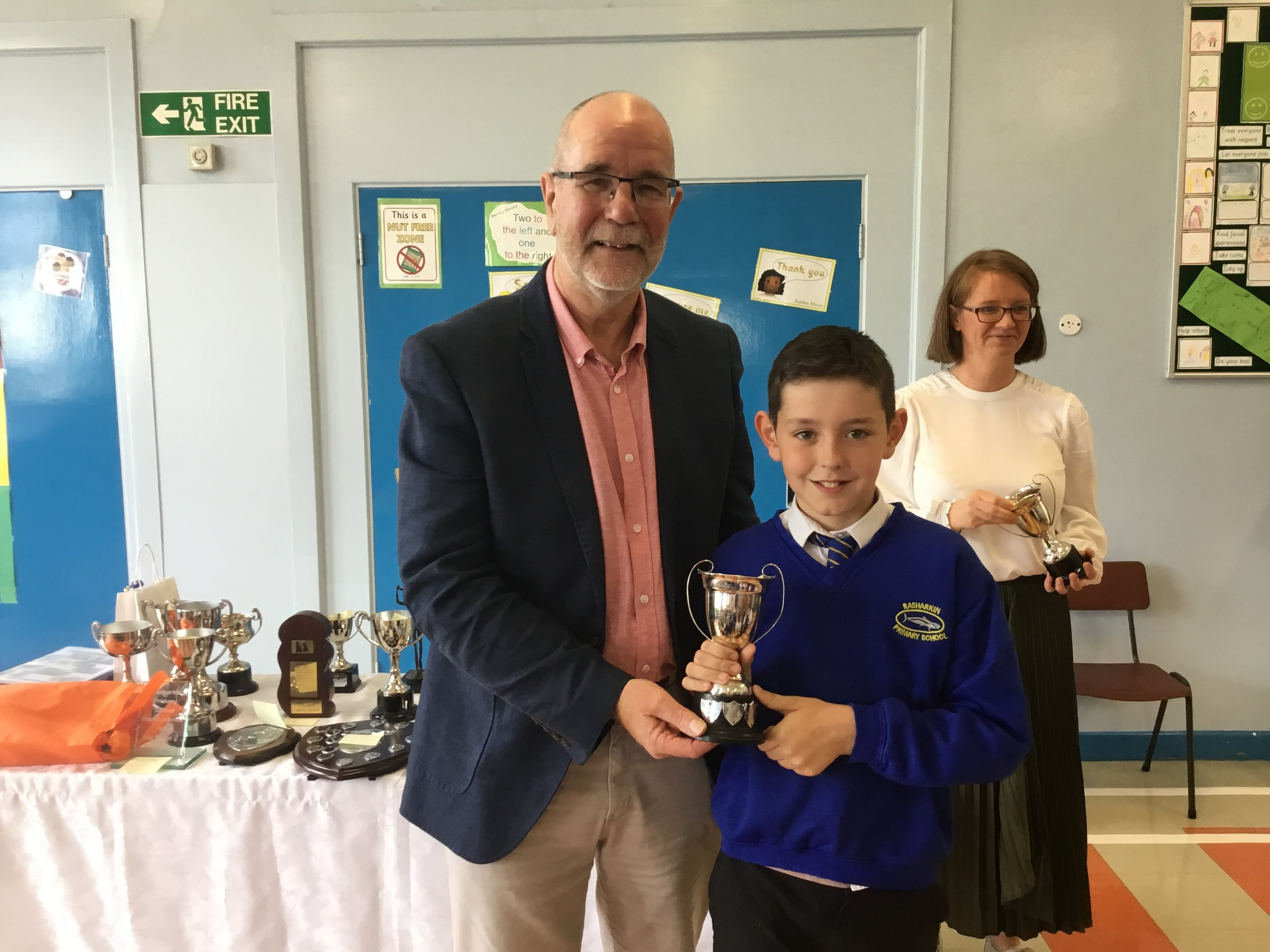Alfie - Ford Cup for P6/7 Boys' Sports