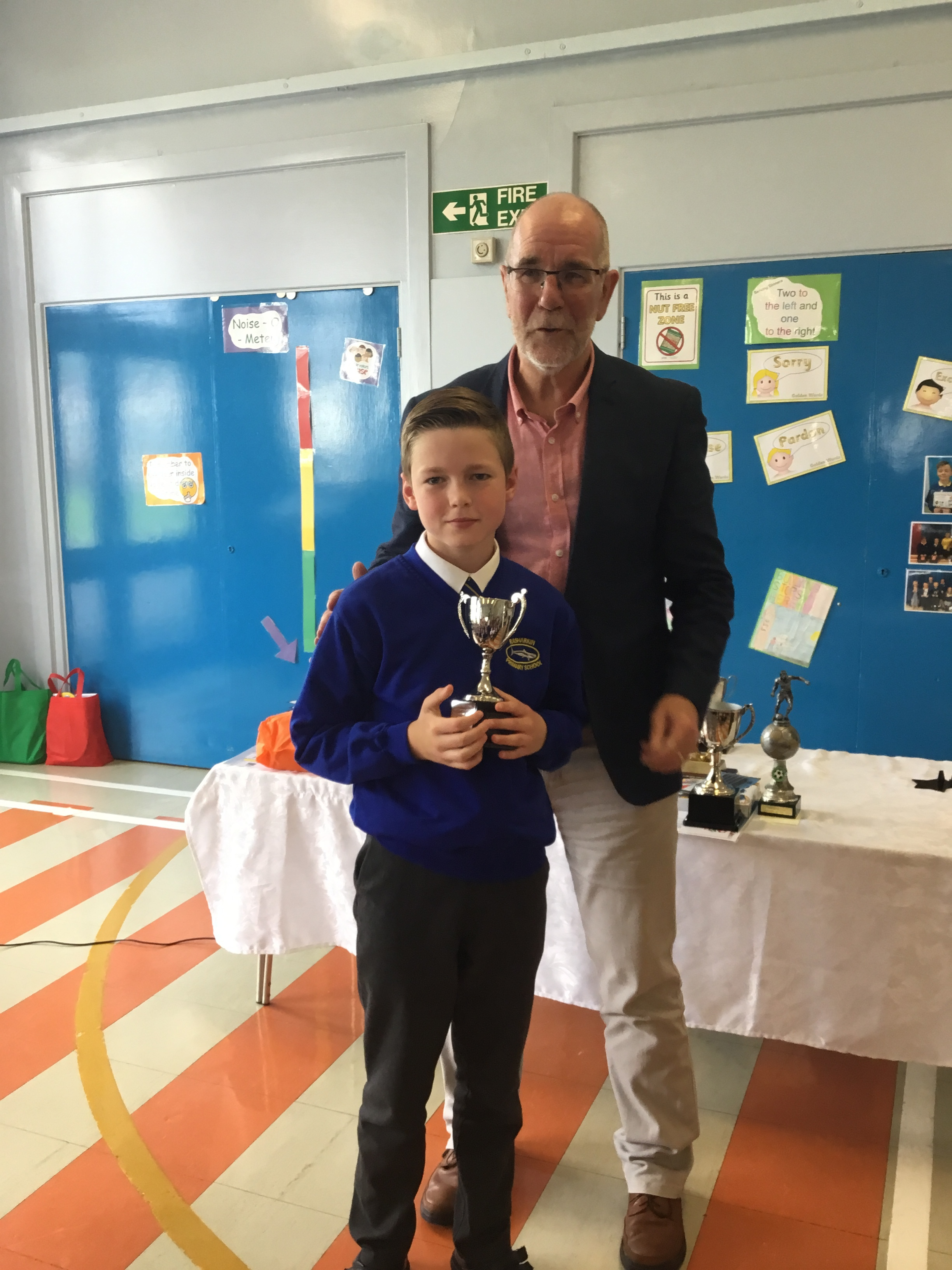 Andrew - Giffin Cup for Swimming