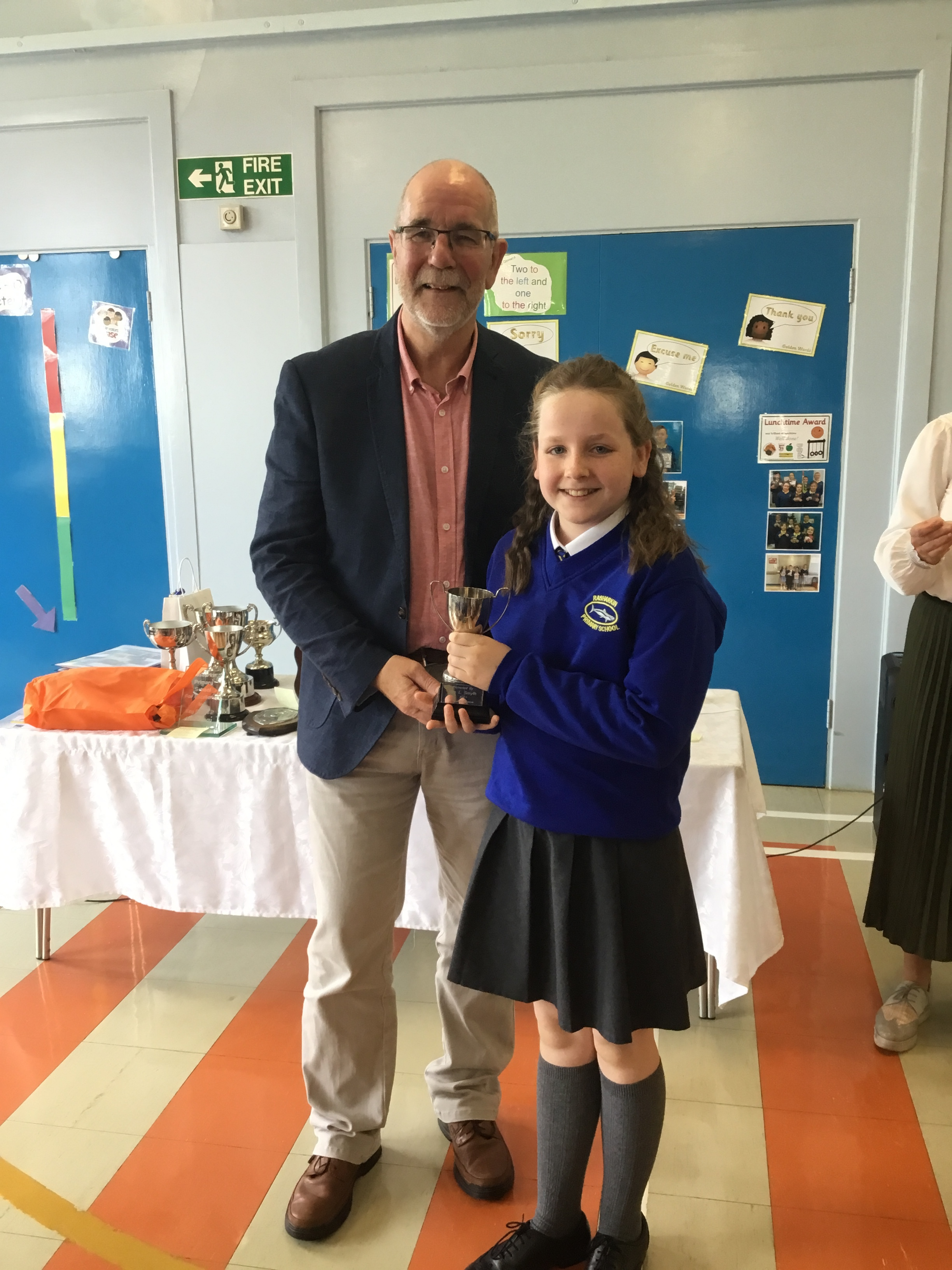 Grace - Smyth Cup for Attendance