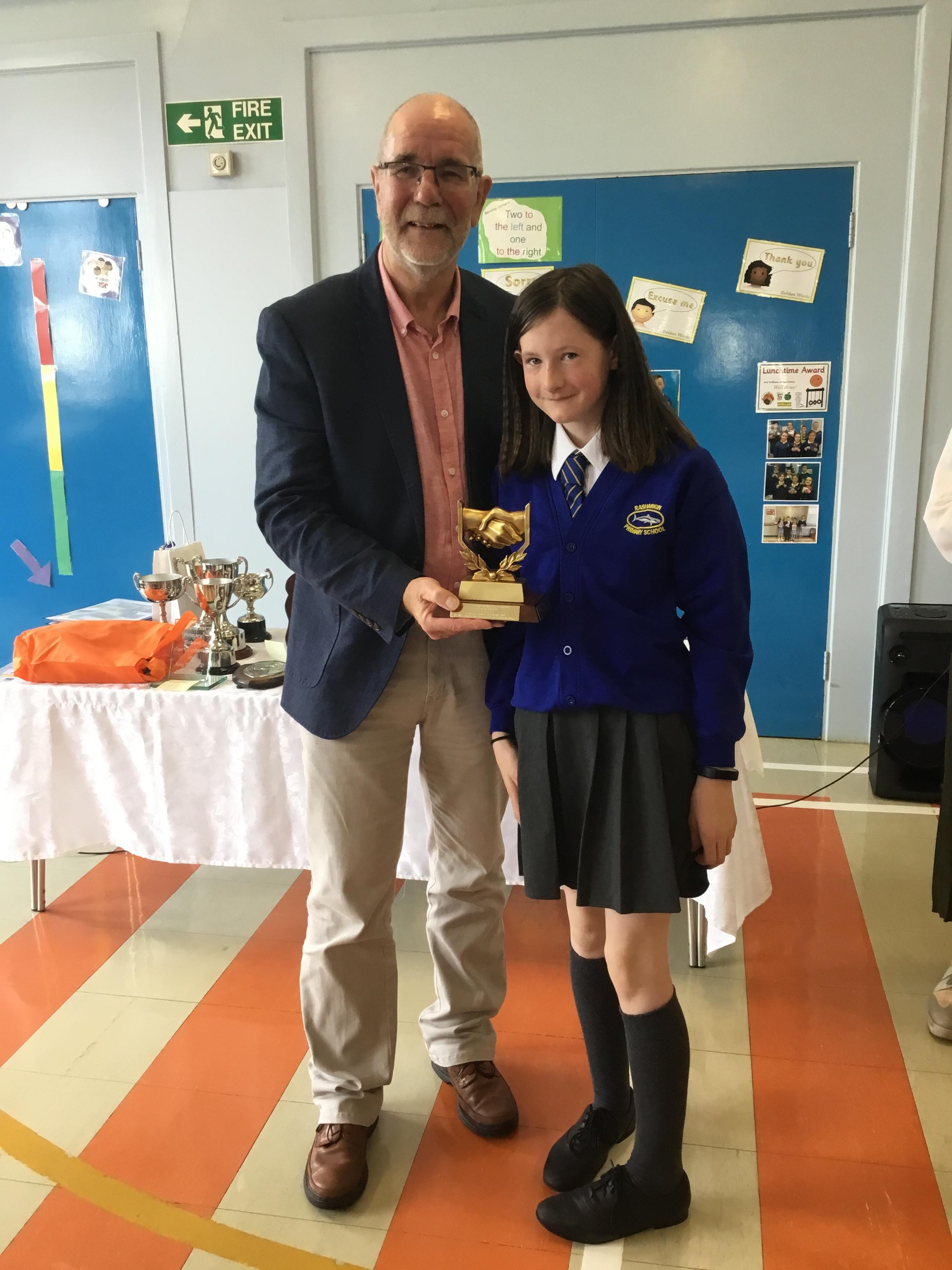 Emily - Barnabas Award for Good Character, KS2