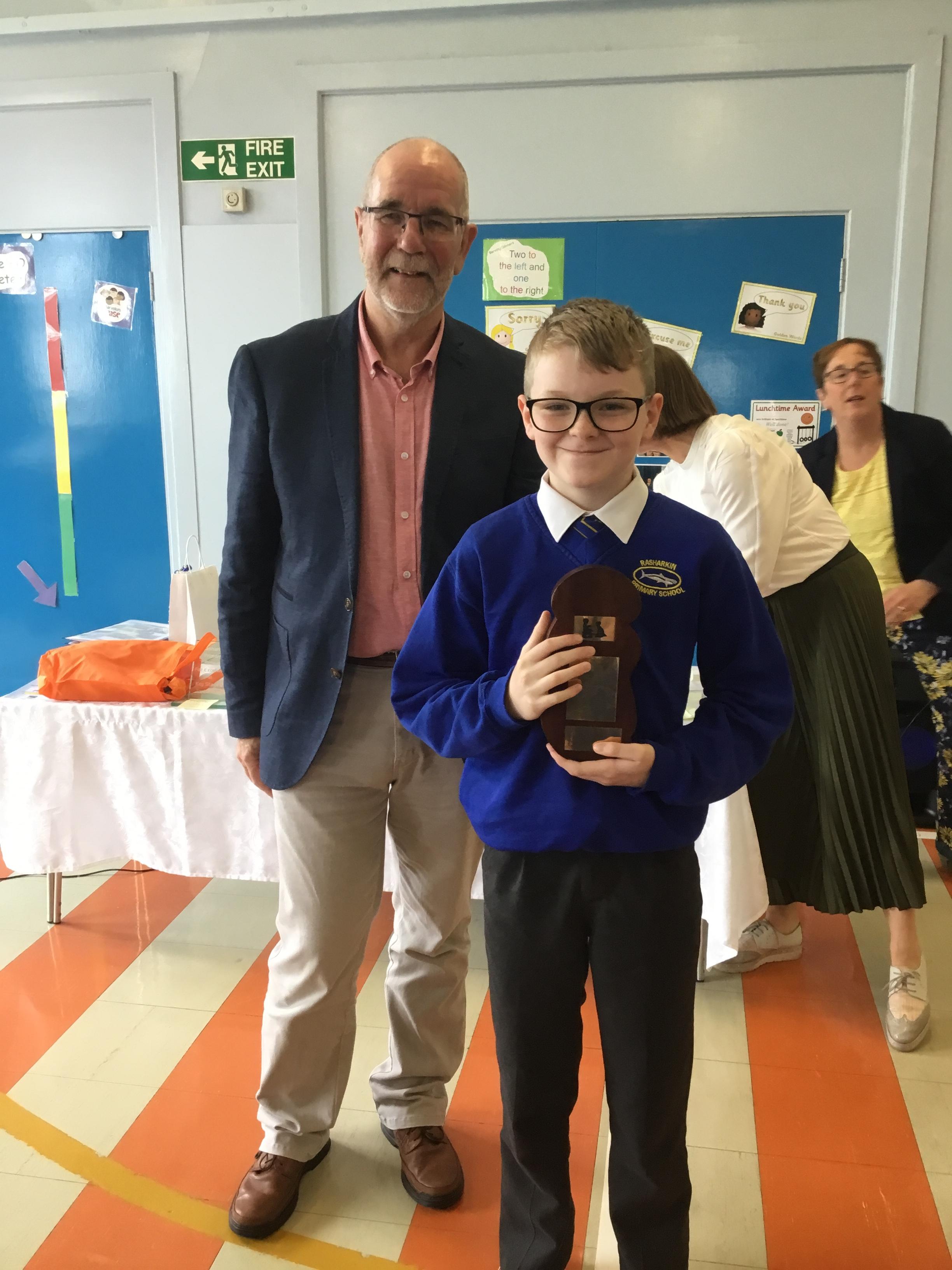 Harley, Mr Lee's Caring Award