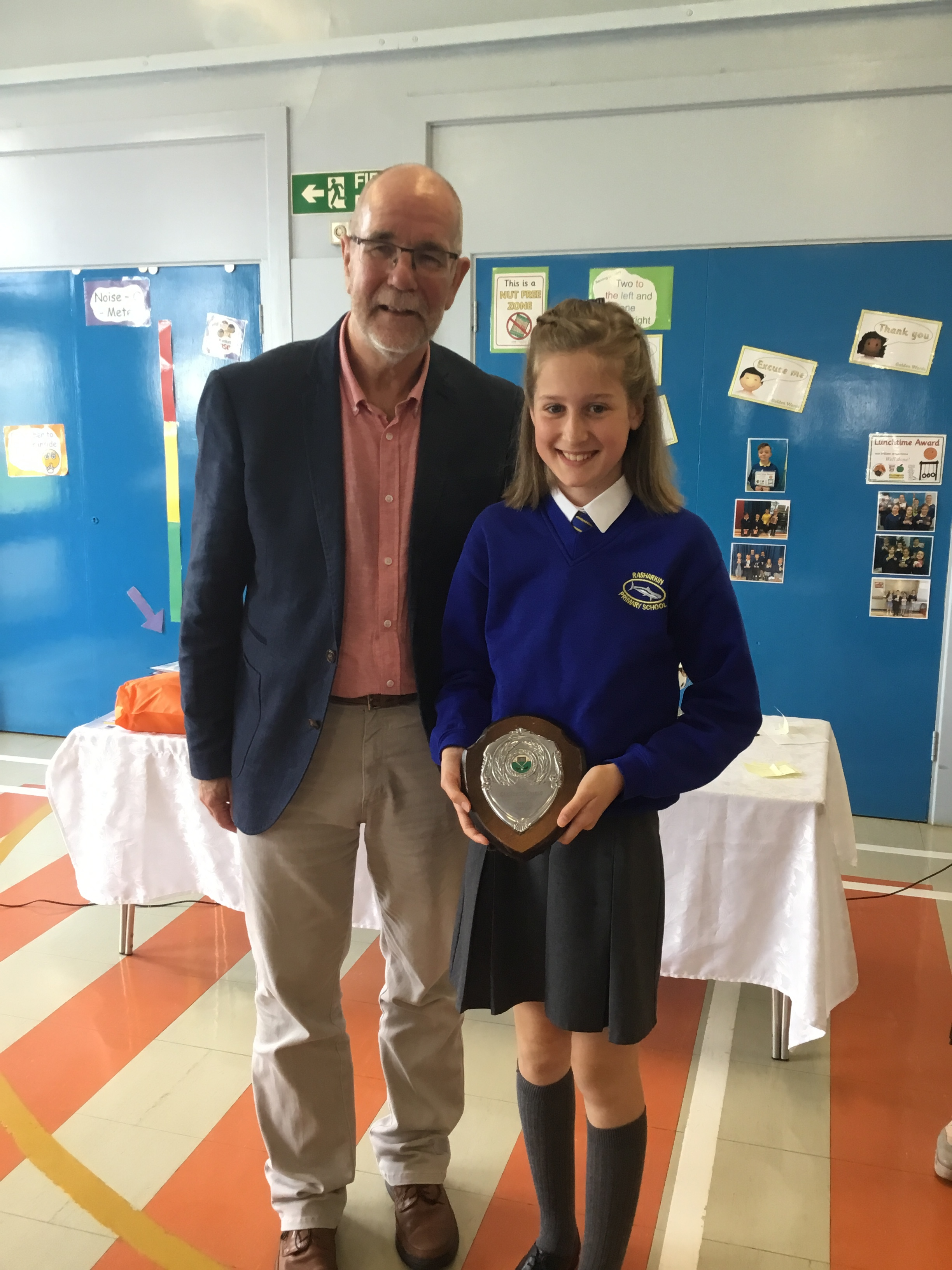 Lily - McClements Shield for Girls' Hockey
