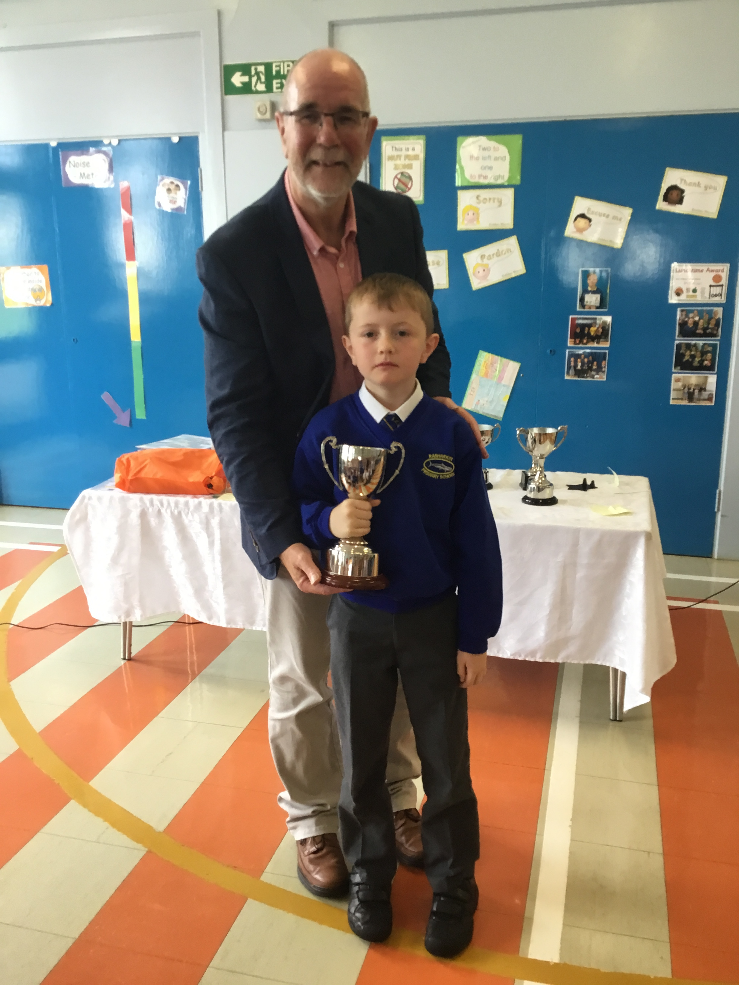 Ethan - McCollum for Academic Excellence at KS1