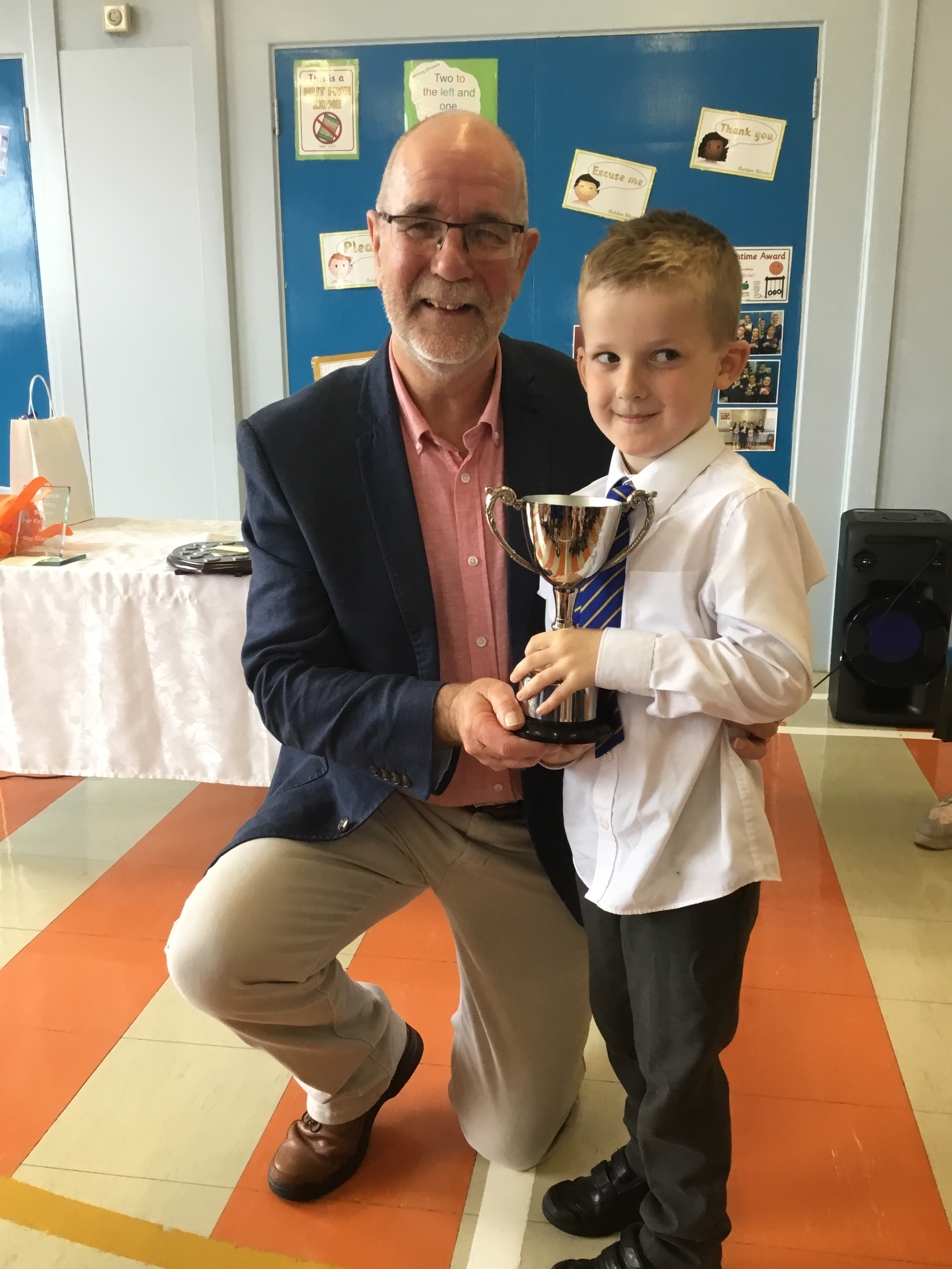 Harry - McGregor Cup for Good Conduct in P1/2