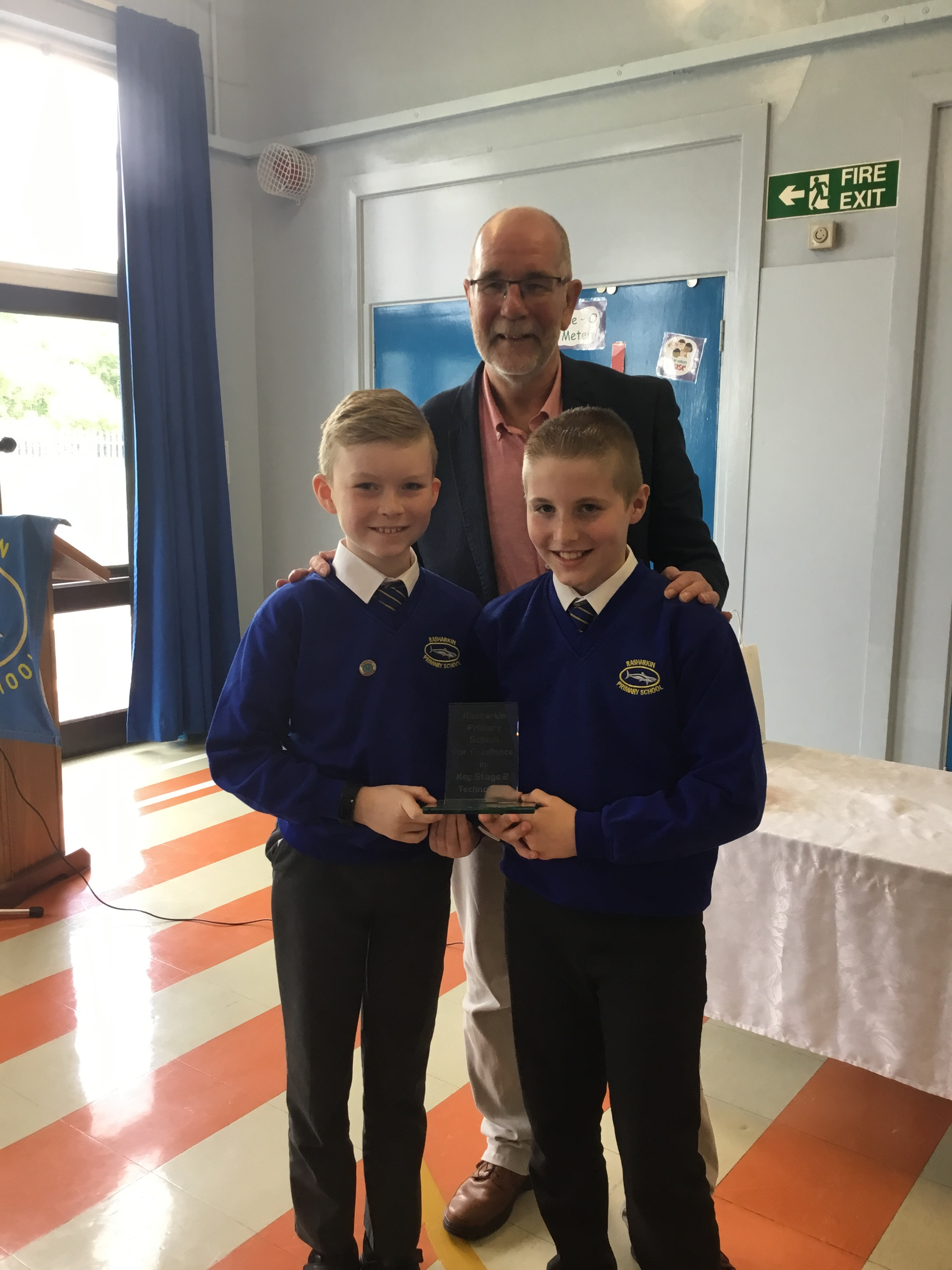 Alexander and Sam - Excellence in Technology at KS2
