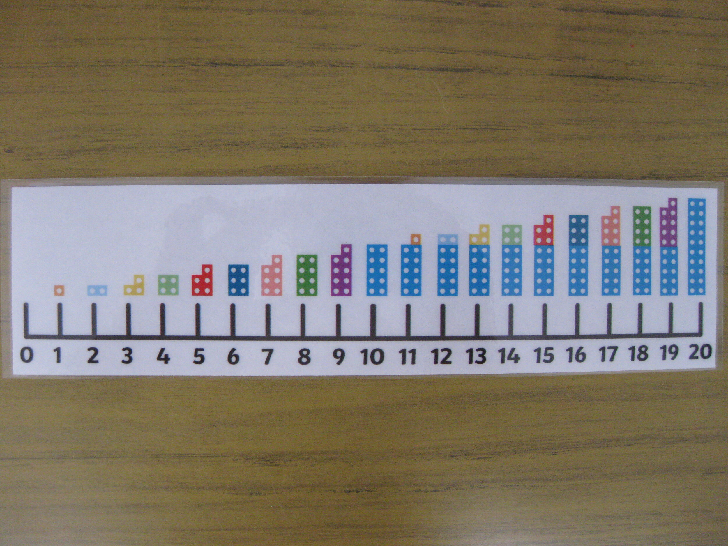 'Numicon encourages children to explore maths using structured imagery and apparatus.'