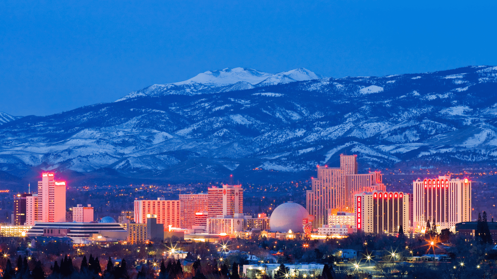 Reno, Nevada - Our main offices are located in the heart of downtown Reno.