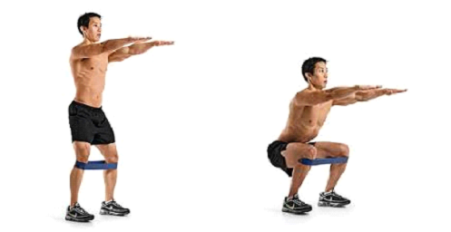 Here is the Sit-To-Stand exercise, couldn't find one with a chair. Remember you are focusing on not letting the Right Knee Fall Inwards.  Perform 10-20 reps x3/day with good quality.