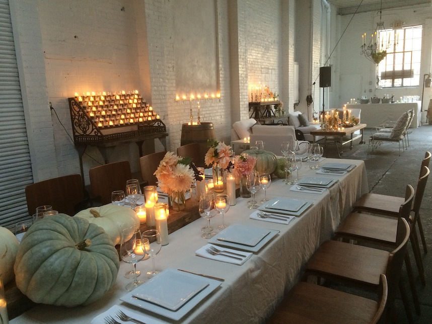Monica Byrne and Leisah Swanson's event space Atelier Roquette in Red Hook. They also have a cafe and bar in Hudson, NY, Home/Made Hudson.