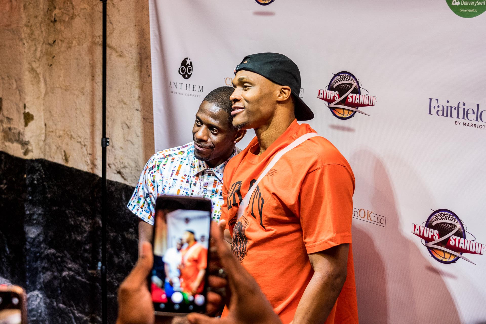 """Demetrius """"Juice"""" Deason (@iamjucemann) & Russell Westbrook (@russwest44)"""