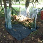 Building a new compost bin by John Athade/CC BY