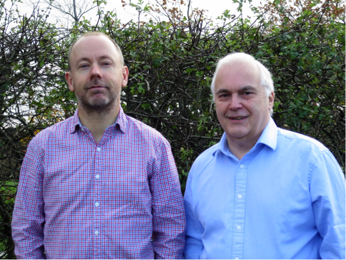 From left to right: Dr Tim Phillips & Mr Mike Willis