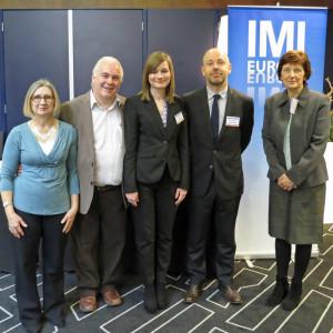 The IMI Europe team, 2016