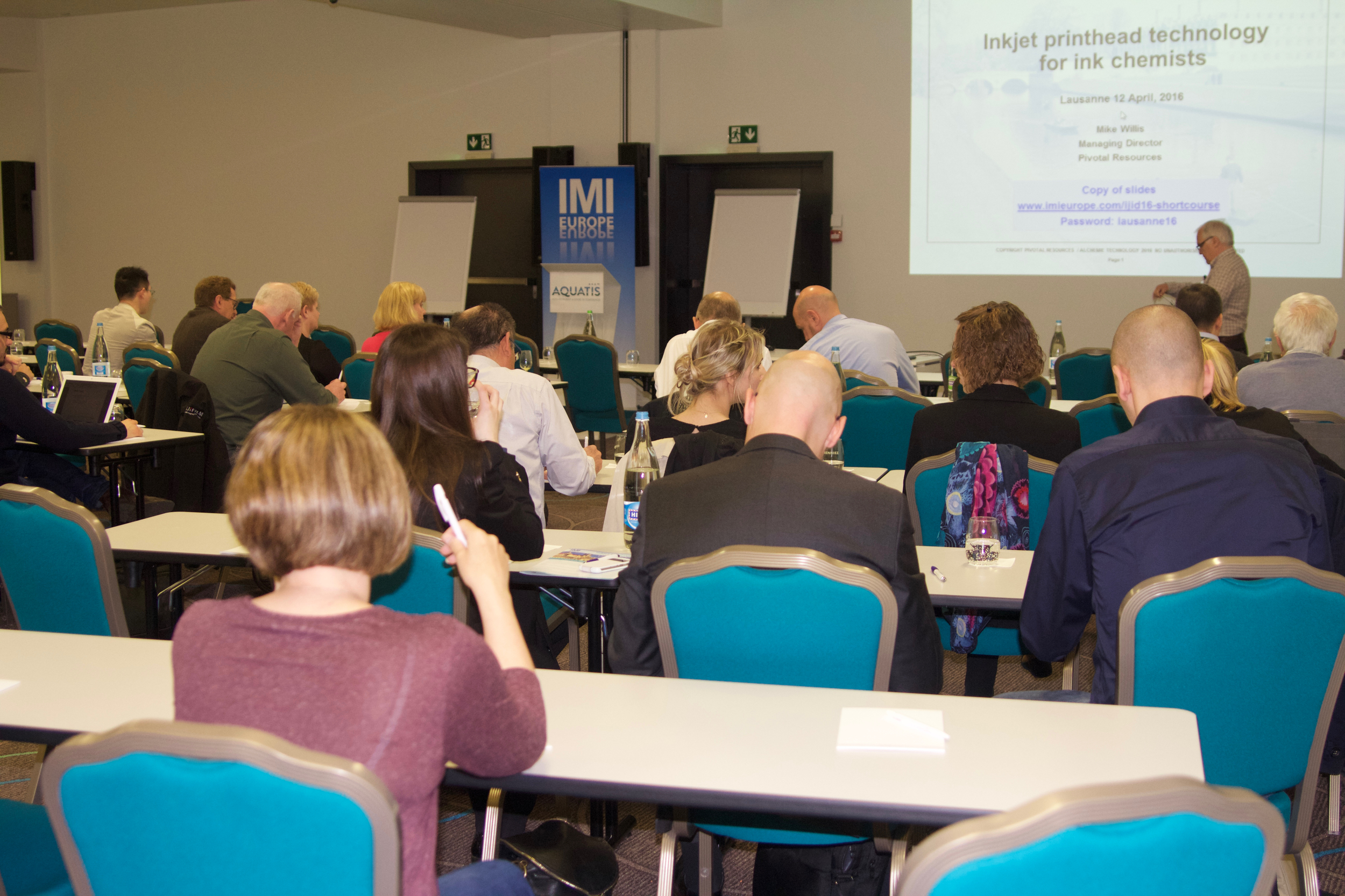 Printhead Technology Course presented by Mike Willis