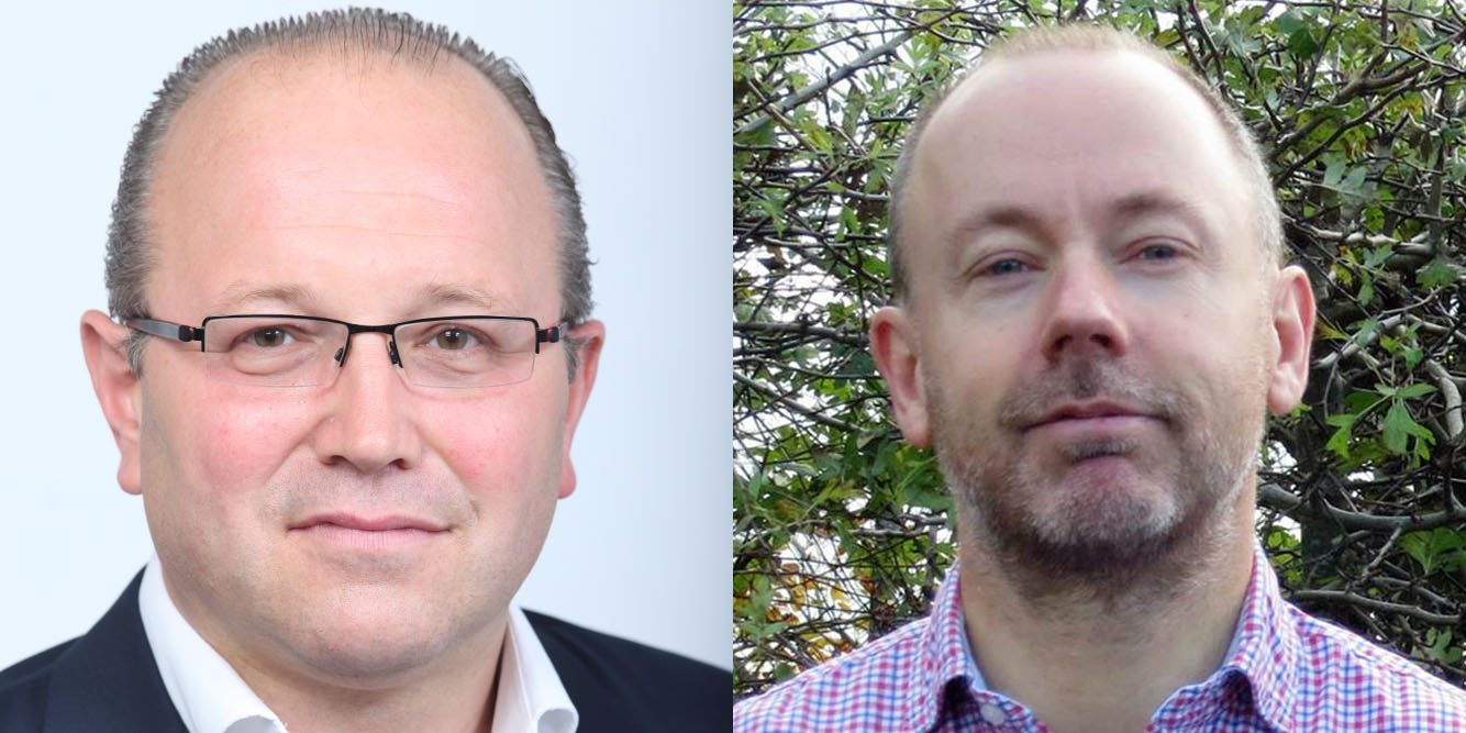 Mark Jarvis, WTiN and Tim Phillips, IMI Europe
