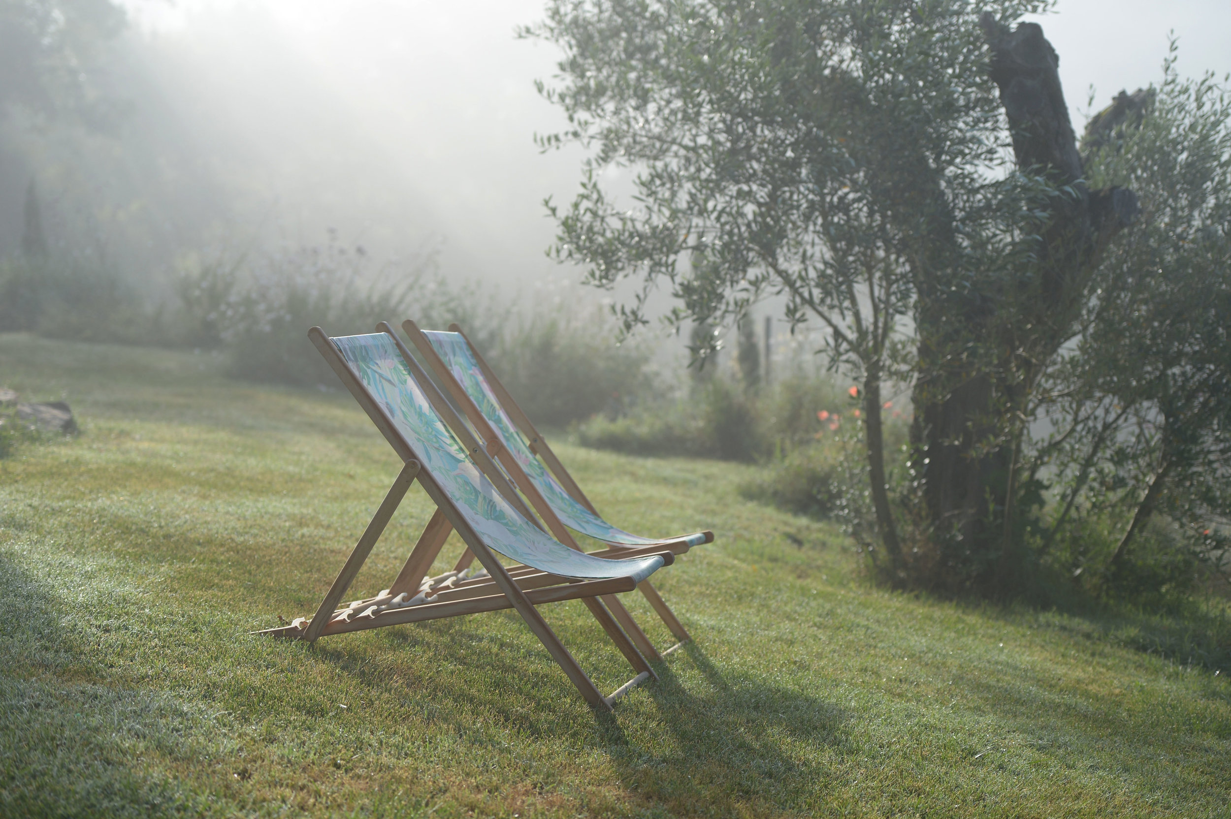 Deckchairs in the morning.JPG