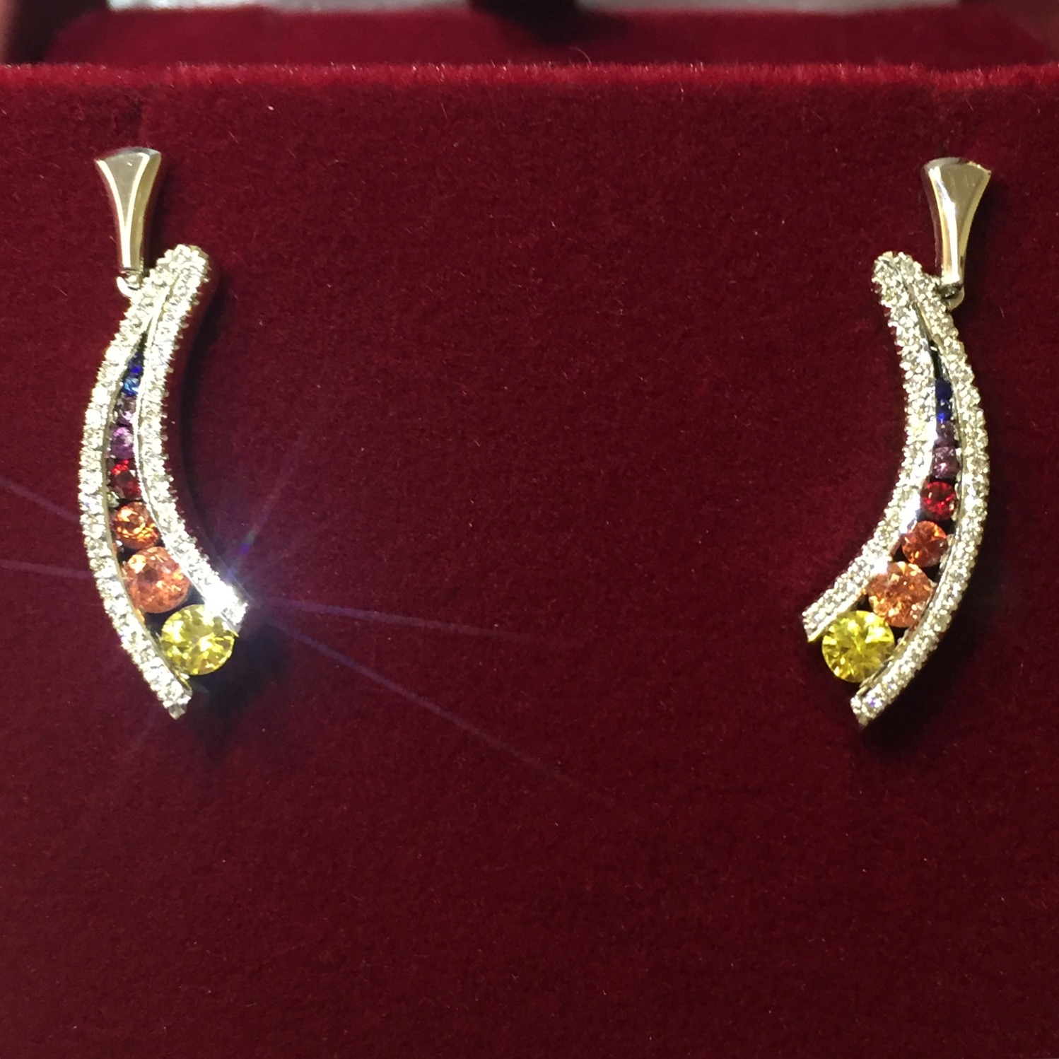 Earrings - Design them yourself with my guidance.