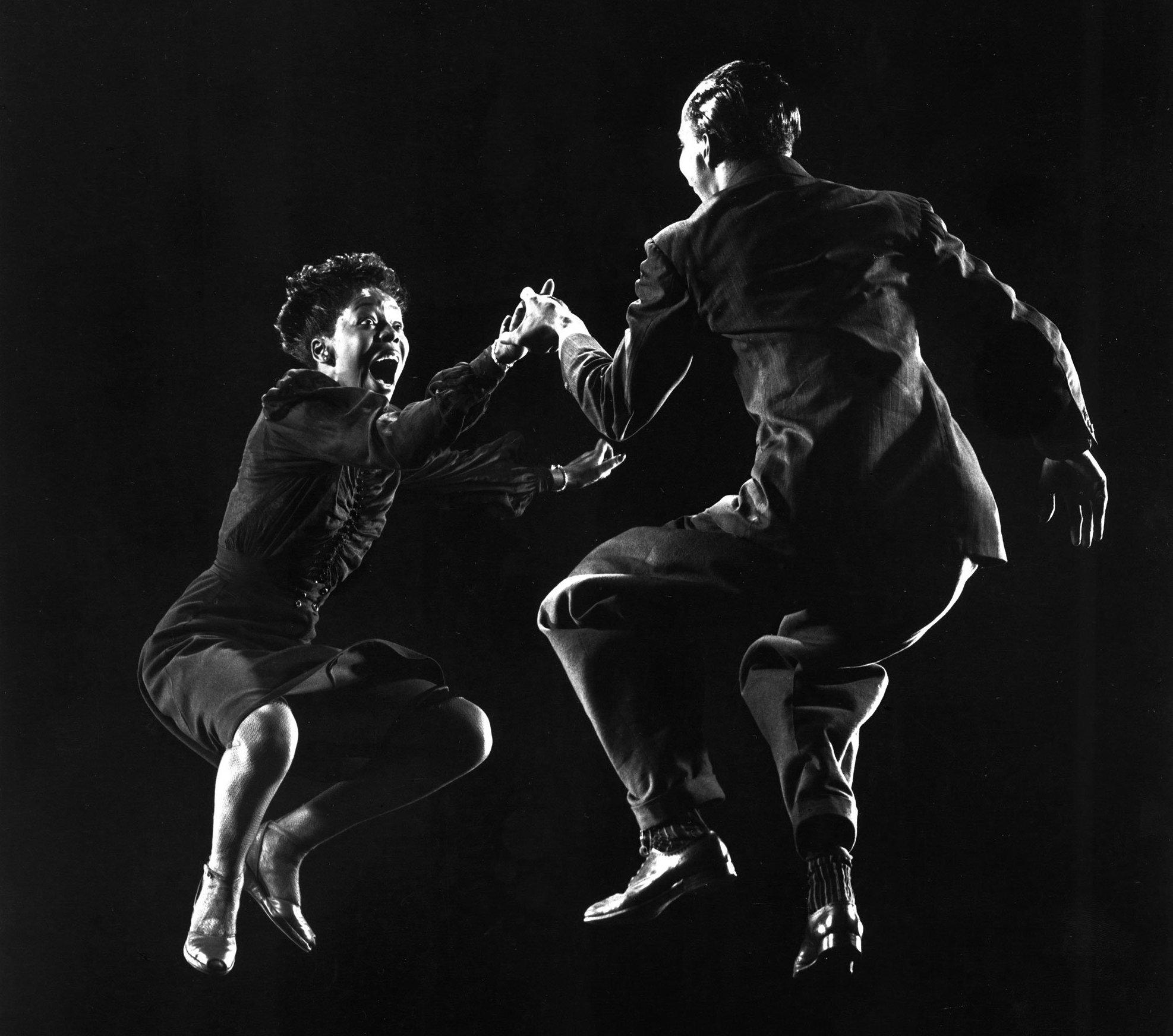Willa Mae Ricker and Leon James