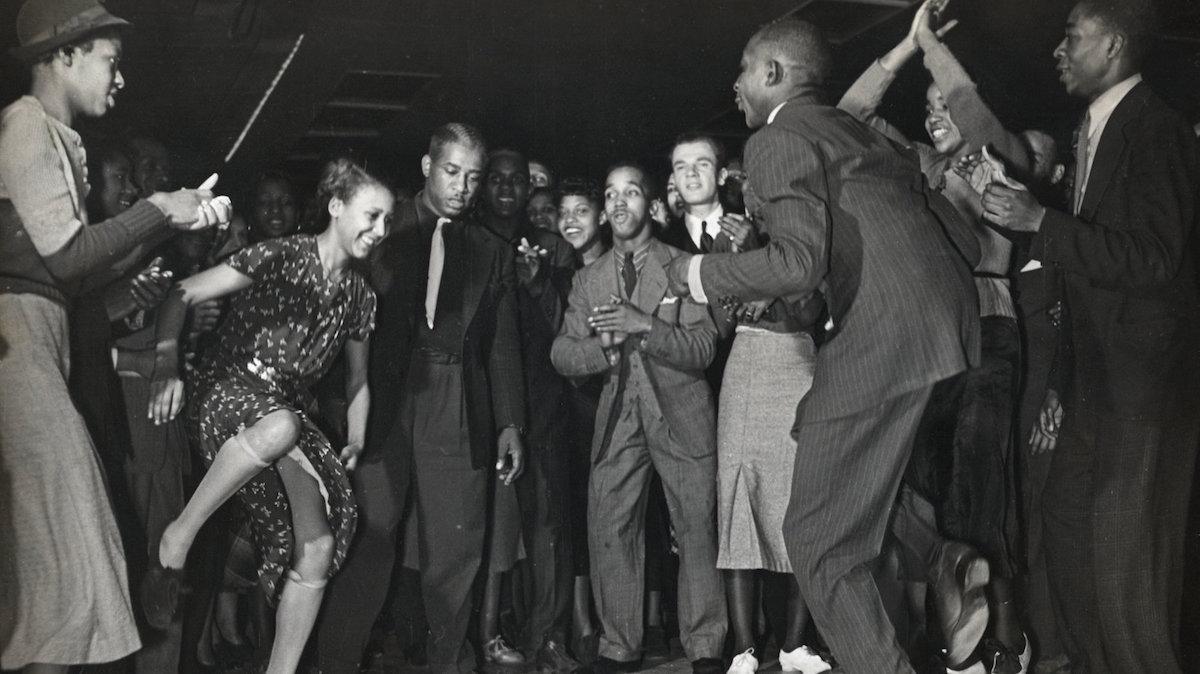 Harlem nightclub in the 1930s