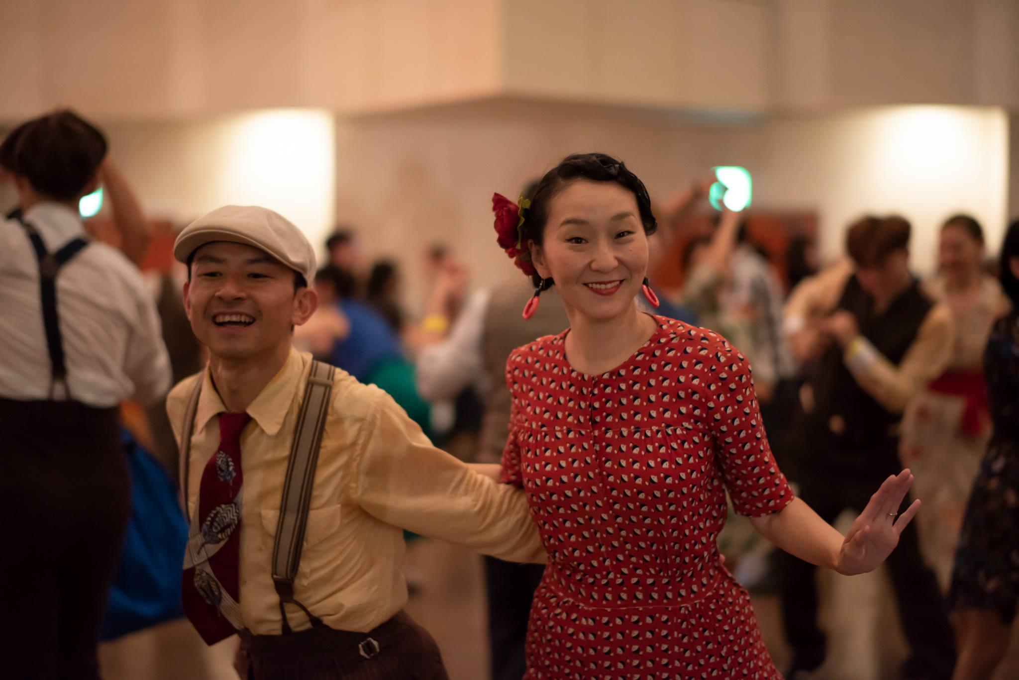 Eiji Nishida and Mariko Okamoto by Hideaki Okamatsu