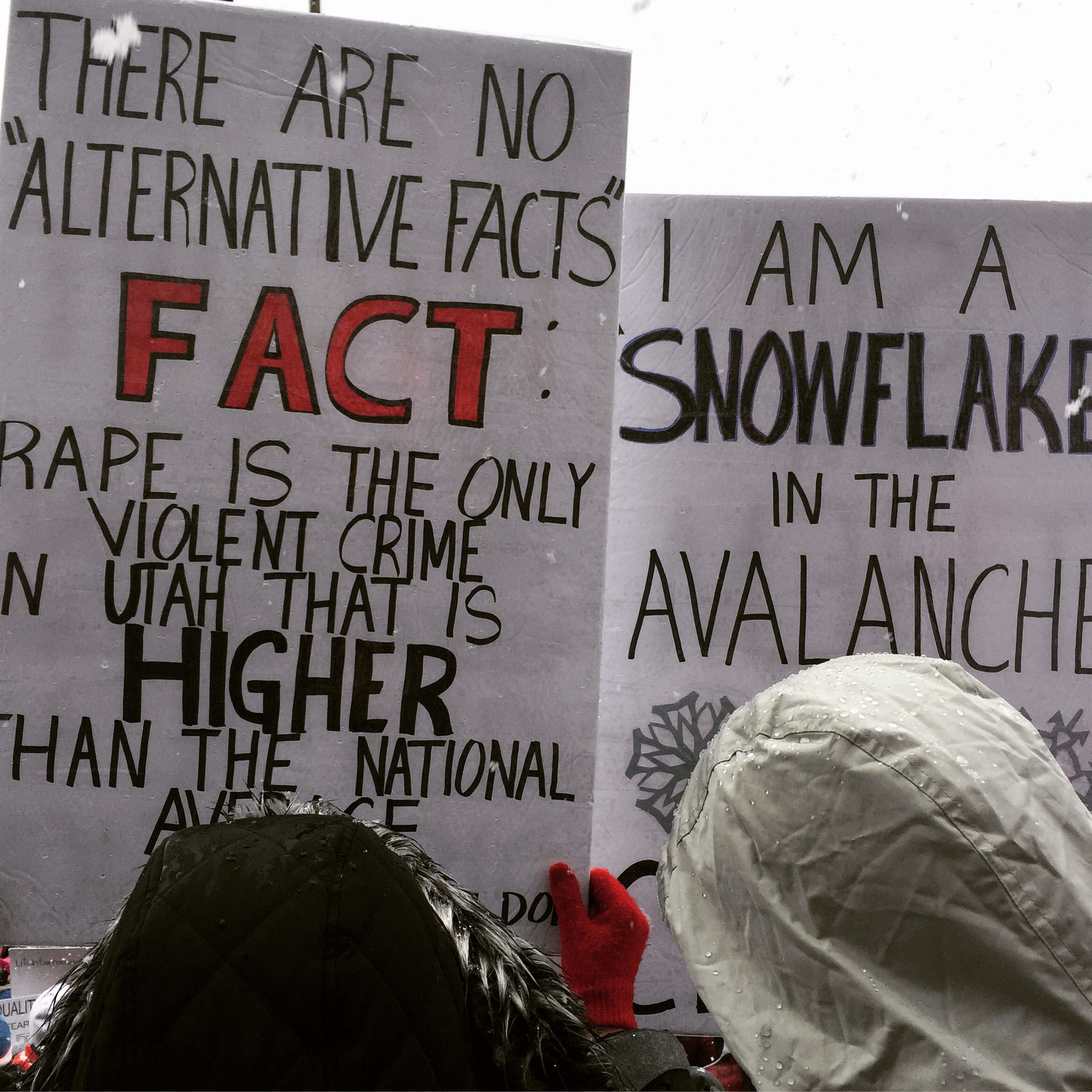 there are no #alternativefacts