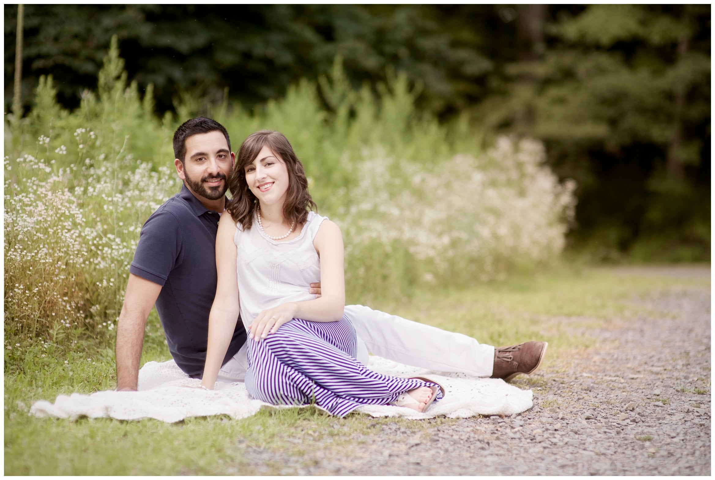 Natirar engagement session in new jersey