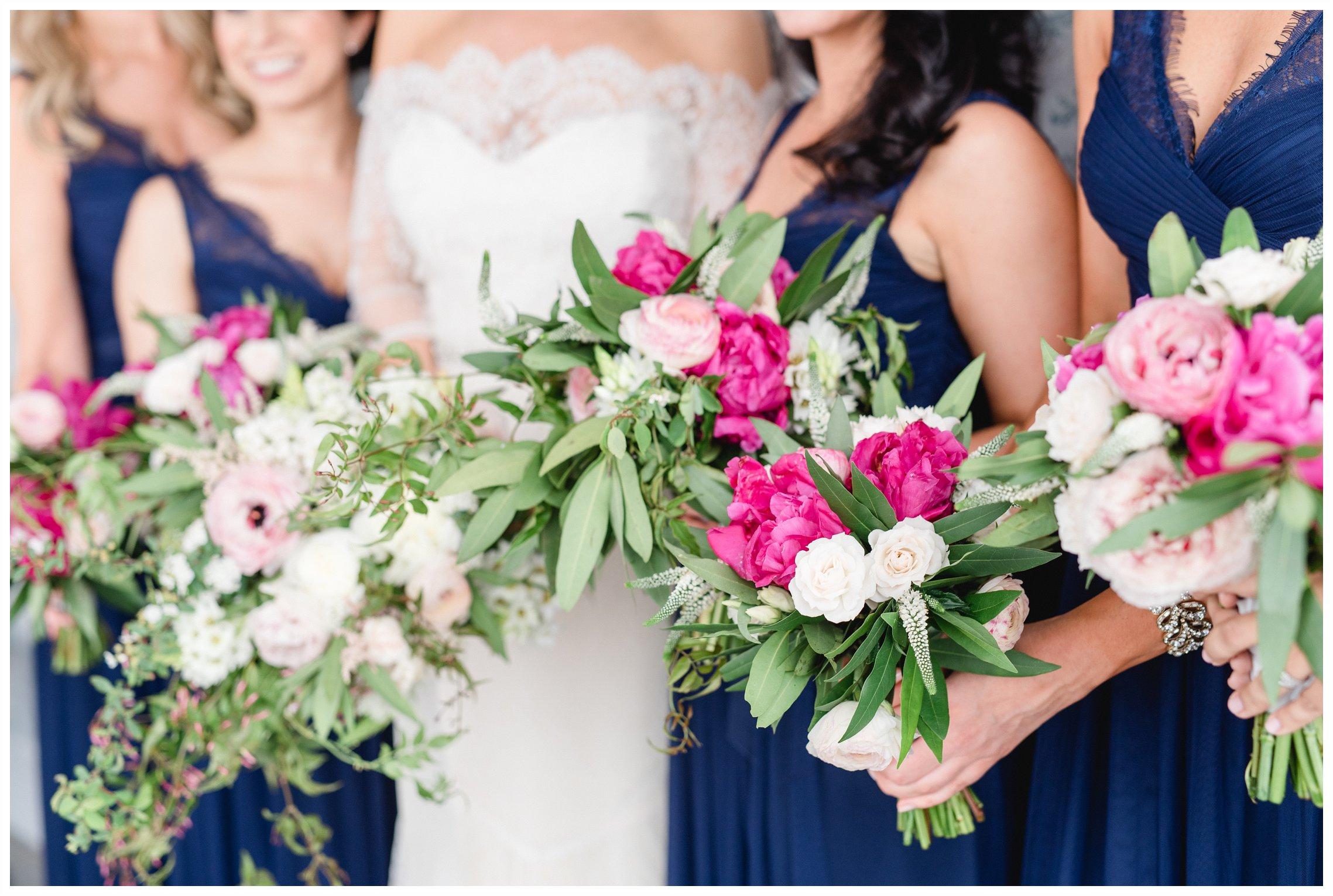 Bridesmaid bouquets Wythe Hotel Williamsburg New York