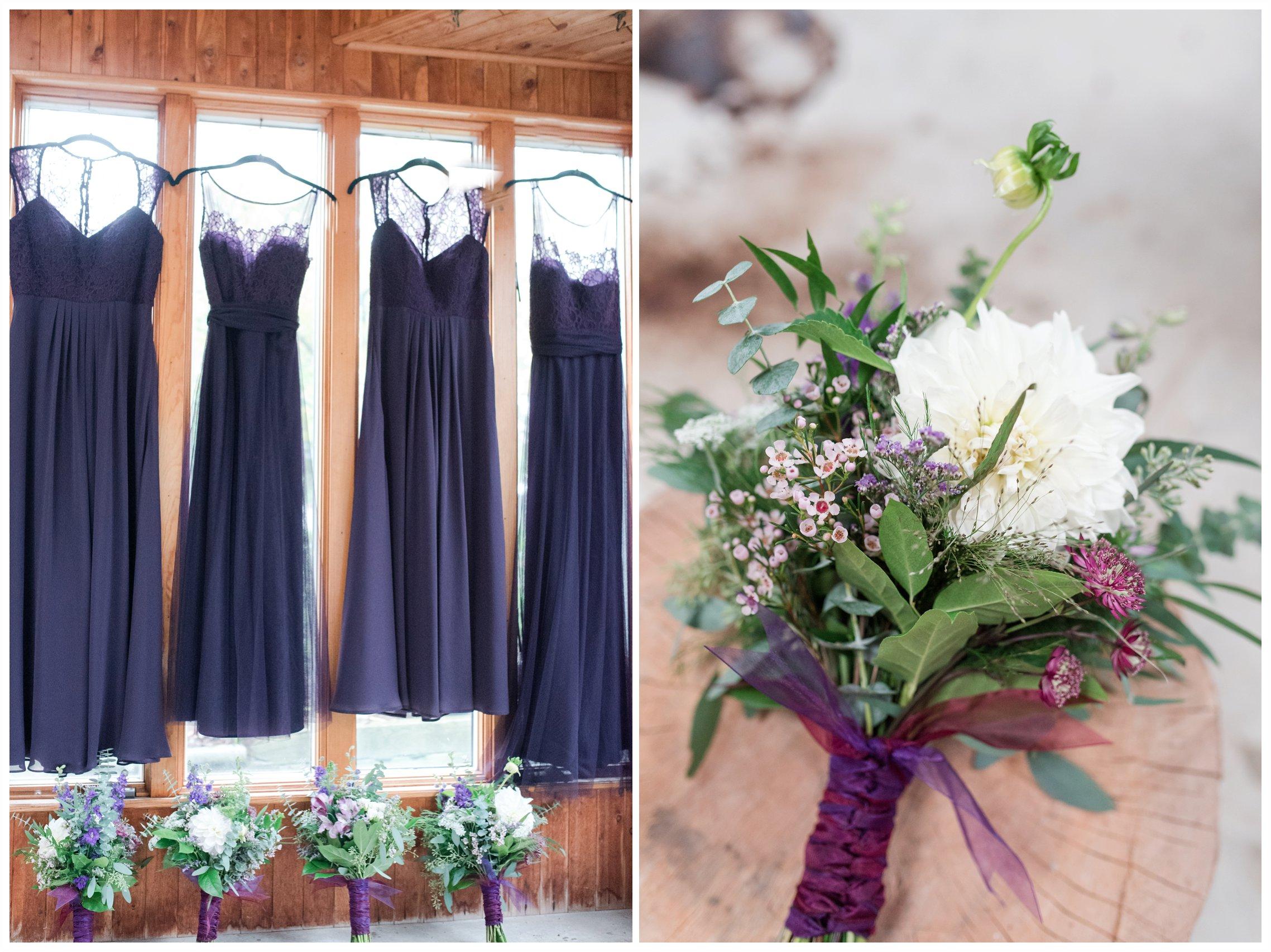 pretty details on a wedding day