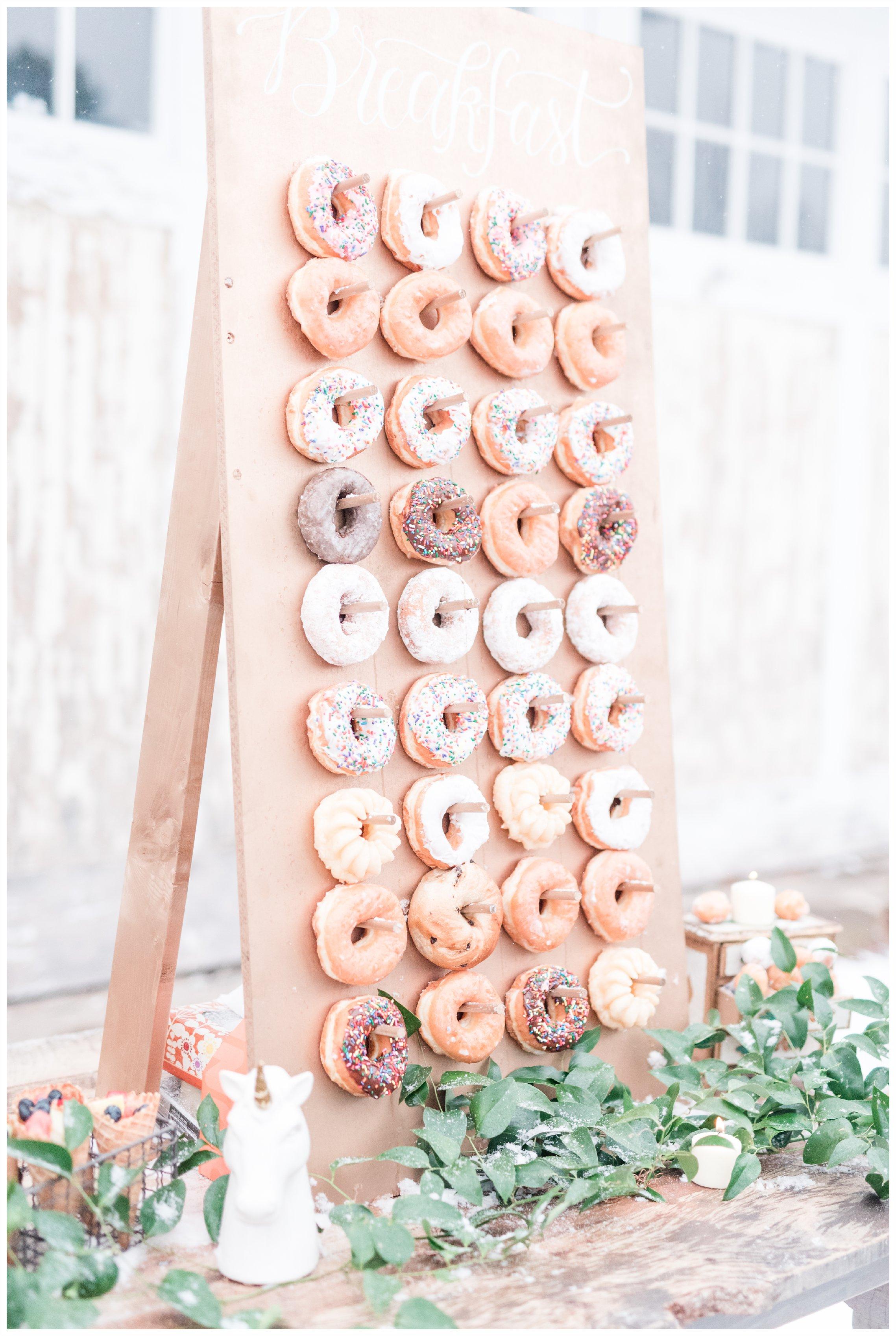 pretty donut board antique