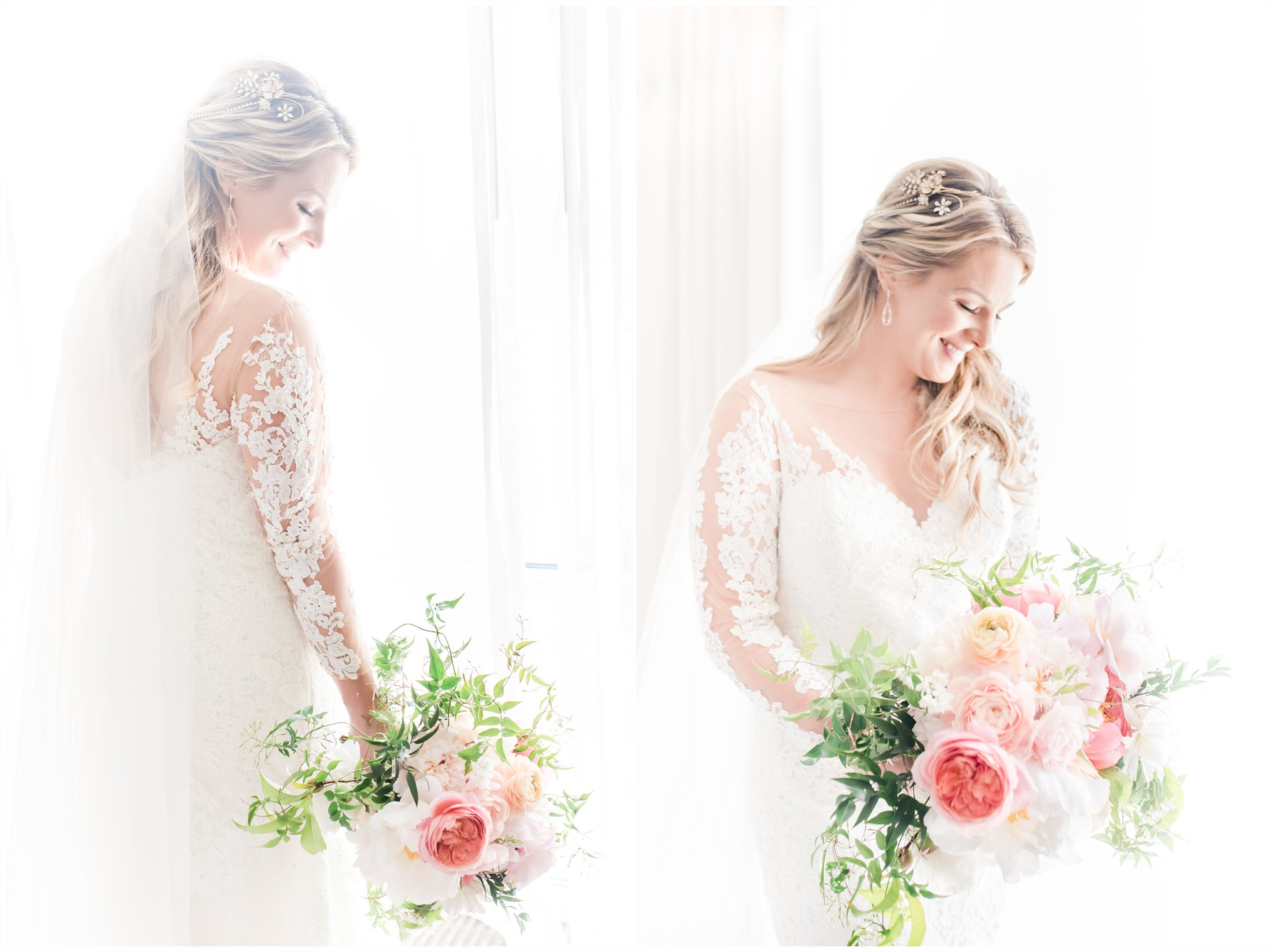 Susie's bridal gown by Pronovias