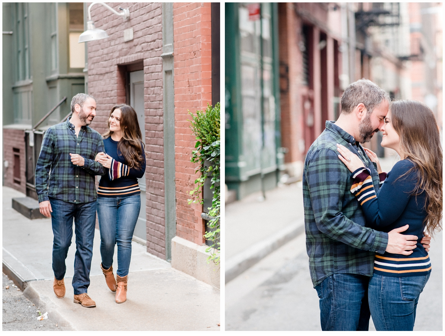 engagement session on staple street