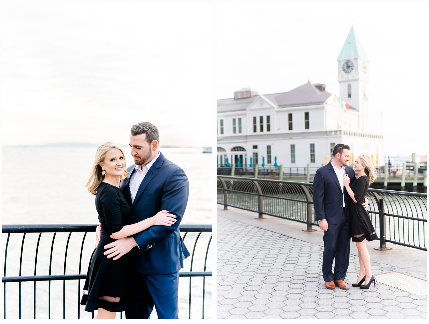 couple engaged by Pier A