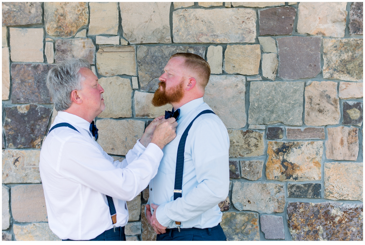 father and groom
