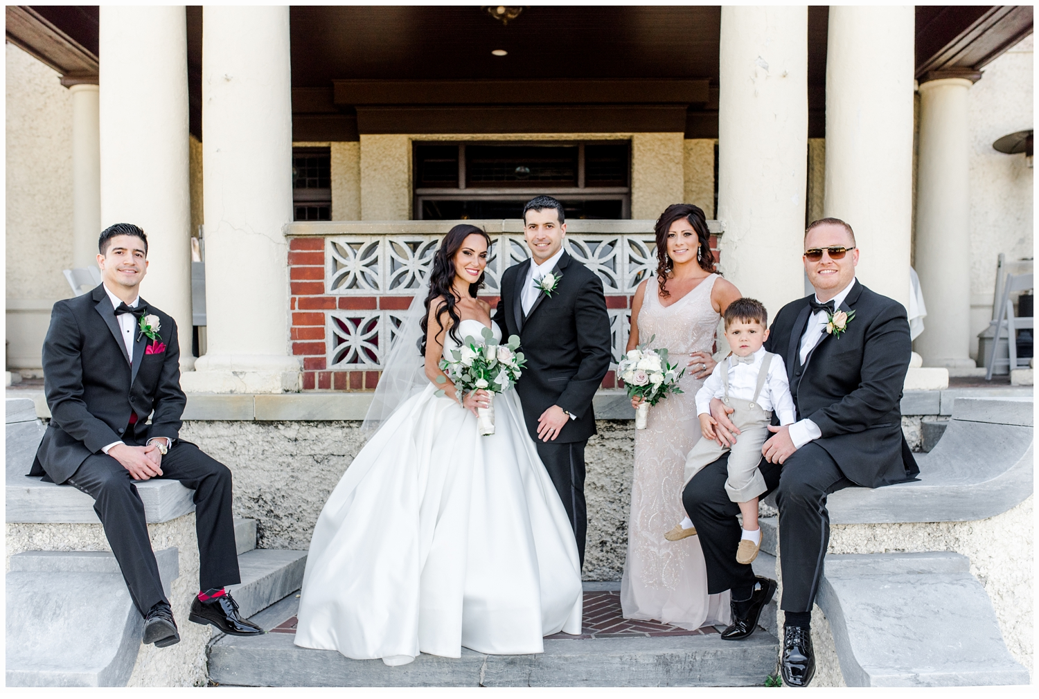 picture of bridal party