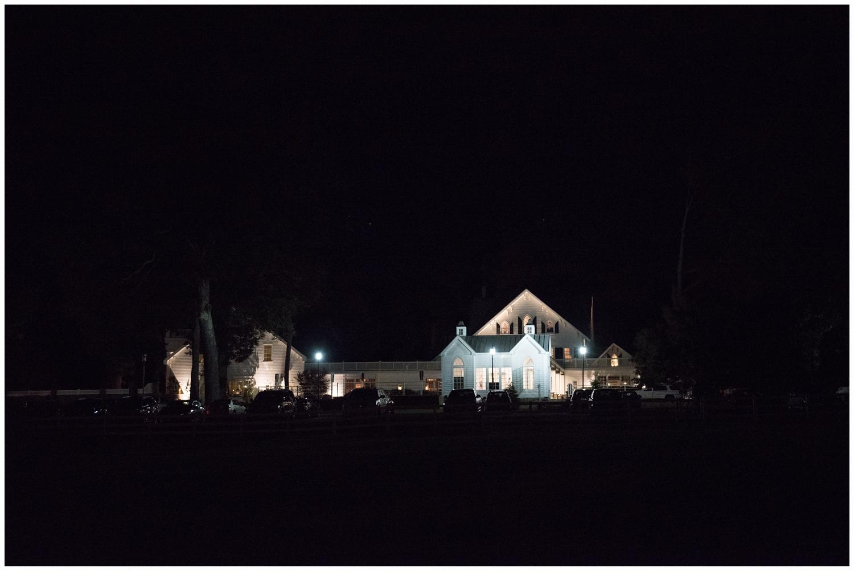 night portrait of the ryland inn