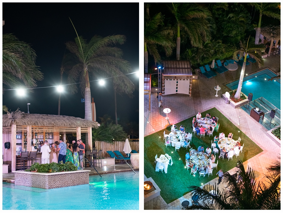 rooftop photos of reception