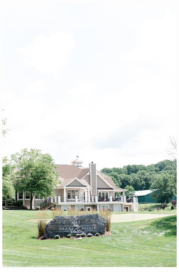 bear brook valley wedding venue