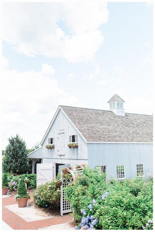 Gorgeous bonnet island estate barn