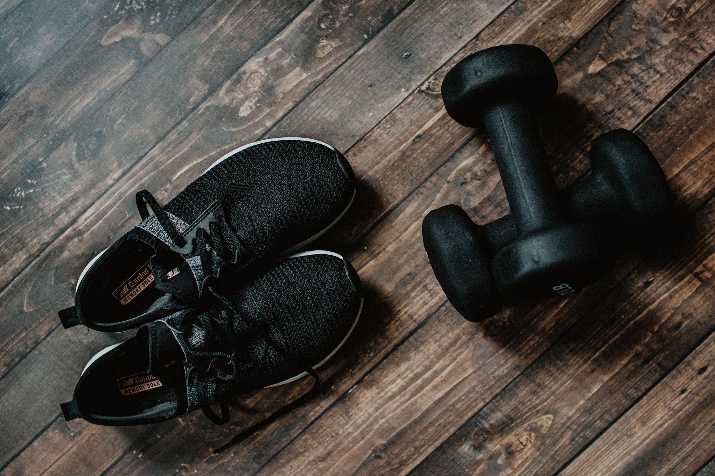 Here's some equipment to get you started. - No pain. No gain.