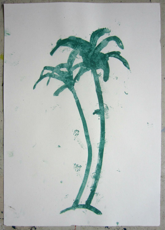 green palm III