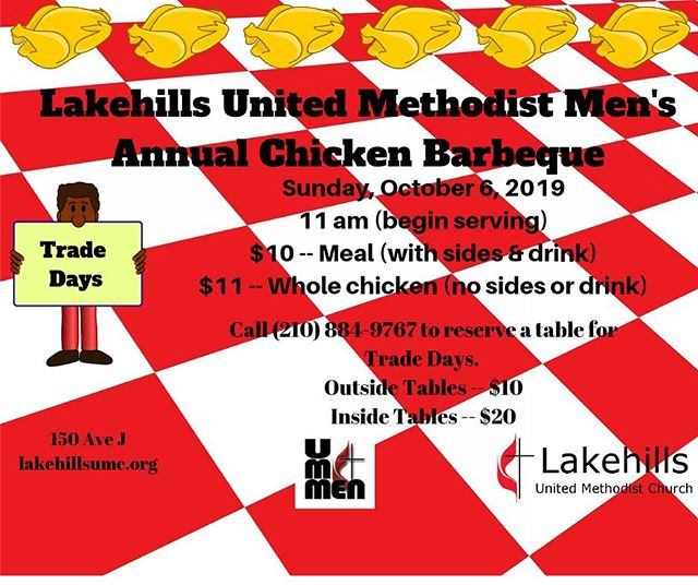 Visit lakehillsumc.org for more information.