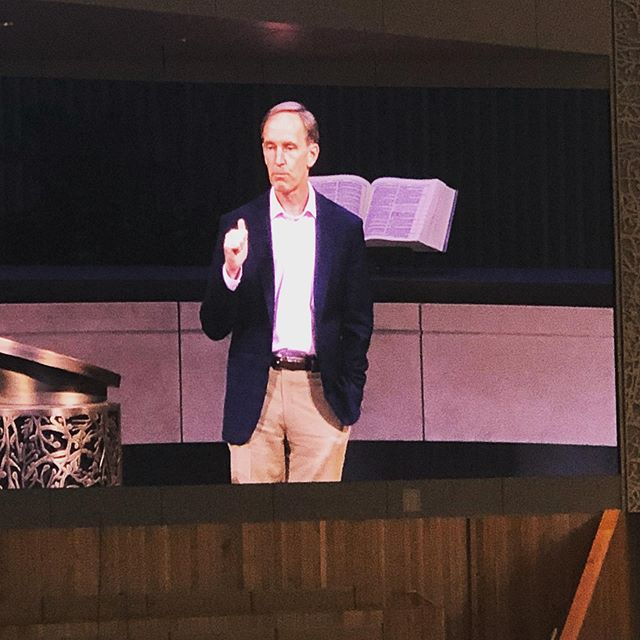 Tom Berlin (writer of Reckless Love, the book we're reading together and using for our stewardship series) speaks to the body at COR about proposed legislation to GC 2020.