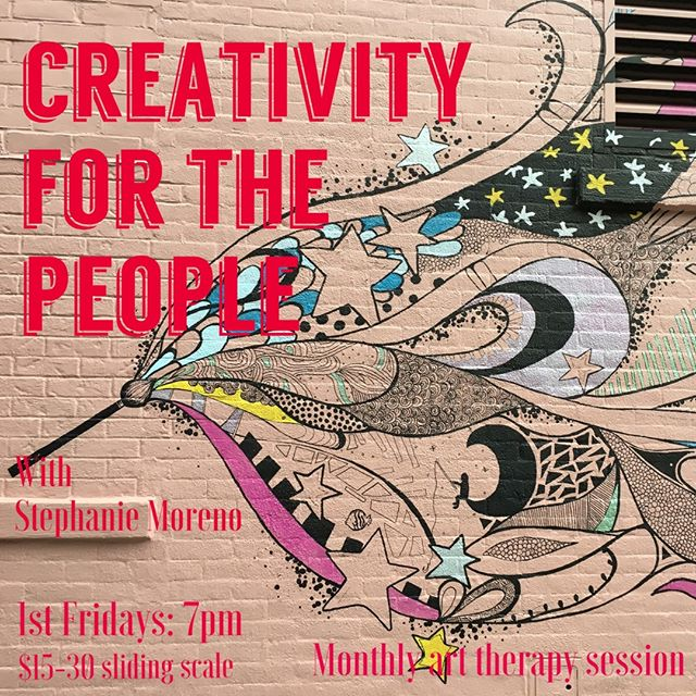 🌈Healing and therapy should be accessible🌈 this thought was the reason behind @artofselflove to create our Monthly Art Therapy group session, CREATIVITY for the PEOPLE💓 * Healing of the mind does not only happen from talking & analyzing, but in so many different ways.  Come and experience the community and simple expression as a tool for self-healing this Friday from 7pm✨ * Creativity for The People is our monthly 'Art as Therapy' series💓💓💓 making this therapy modality accessible. * Art is Magic. If you are wanting to tap further into your soul and explore creative expression, this offering is for you! It is for creatives, non creatives, artists experiencing blockages, individuals on their spiritual journey/awakening (no matter what stage), and individuals seeking spiritual enlightenment. The power of creativity and creative expression as a tool for healing and deepening self-awareness is what this class is all about!! Absolutely no critiques are involved, and no art experience is necessary. * About Art therapy... Traditional Art Therapy is originated in the fields of Art and Psychotherapy. It is a healing arts modality using creative expression as a therapeutic technique. It is used to treat psychological disorders as well enhance mental health and overall well being. Creativity for The People will integrate spirituality, mindfulness, and energetic magic, encompassing an integrative holistic approach to Art Therapy. * It is a divine force within all of us - let's make magic together. * For more info or to register, please visit  MINKAbrooklyn app (free from iTune or Google  Play) or http://minkabrooklyn.com/calendar * #livewithart  #inspiration #drawing #soulwork #healing #meditation #positivevibrations #sacredcircles #spiritual #wellness #mindfulness #holistic #selflove #selfcare #mentalhealth #recovery #anxiety #relax #counseling #treatment #depression #heal #wellness #therapy #arttherapy #expressivearttherapy #mentalhealthawareness #alternativehealing
