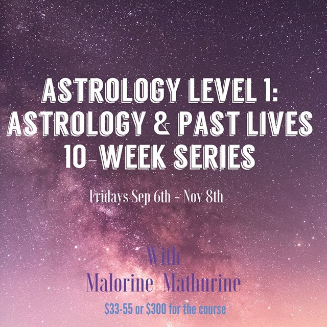 Are you curious about astrology?  You want to find out more but not sure about committing fully?  We got a perfect offering for you😉 * Astrology level 1 class does not ask you to commit -you can take classes that makes sense for you to take now, then you can do the rest later (or maybe never, but we hope you come back!) * Week 1: Learn the basics of Astrology. Sun signs, Moon signs, Ascendant and Rising signs. • Week 2: Looking past the Sun sign. What are the meanings of the planets and signs in your natal chart? • Week 3: Signs and Houses. Learn to decipher how these different combinations manifest in your chart and life and what they mean. • Week 4: Signs and Houses, part 2. Learn to decipher how these different combinations manifest in your chart and life and what they mean. • Week 5: The Nodes. What is the North and South Nodes and how do they show us our life paths? • Week 6: Chiron, the wounded healer. How do we work with the wounds of Chiron? We all have them. • Week 7: Career and Gifts. Where does our career, innate gifts and abilities show up in our chart? Hint: the aspects and signs of Midheaven, Part of Fortune, Jupiter and Saturn will lead the way. • Week 8: Lilith and the Dark Moon. How do we distract from our shadow side in the world? What aspects of our hidden selves do we need to work on? • Week 9: Love life. Where does love show up in your chart? Working with the Ascendant/Descendant, Juno, Venus in your chart. Learn how to construct a Vedic Astrology-based grid on your love life. • Week 10: Using other sources of Divination. Tarot, Numerology and more.  * For more info or to register, please visit  MINKAbrooklyn app (free from iTune or Google  Play) or http://minkabrooklyn.com/calendar/#minkacalendar * #tarot #spiritual #zodiac #meditation #horoscope #spirituality #healing #moon #energy #astrology #natalchart #minkabrooklyn #brooklyn #magic #healersofminka #witchesofinstagram #healersofinstagram #crystalhealing #divination #guidance  