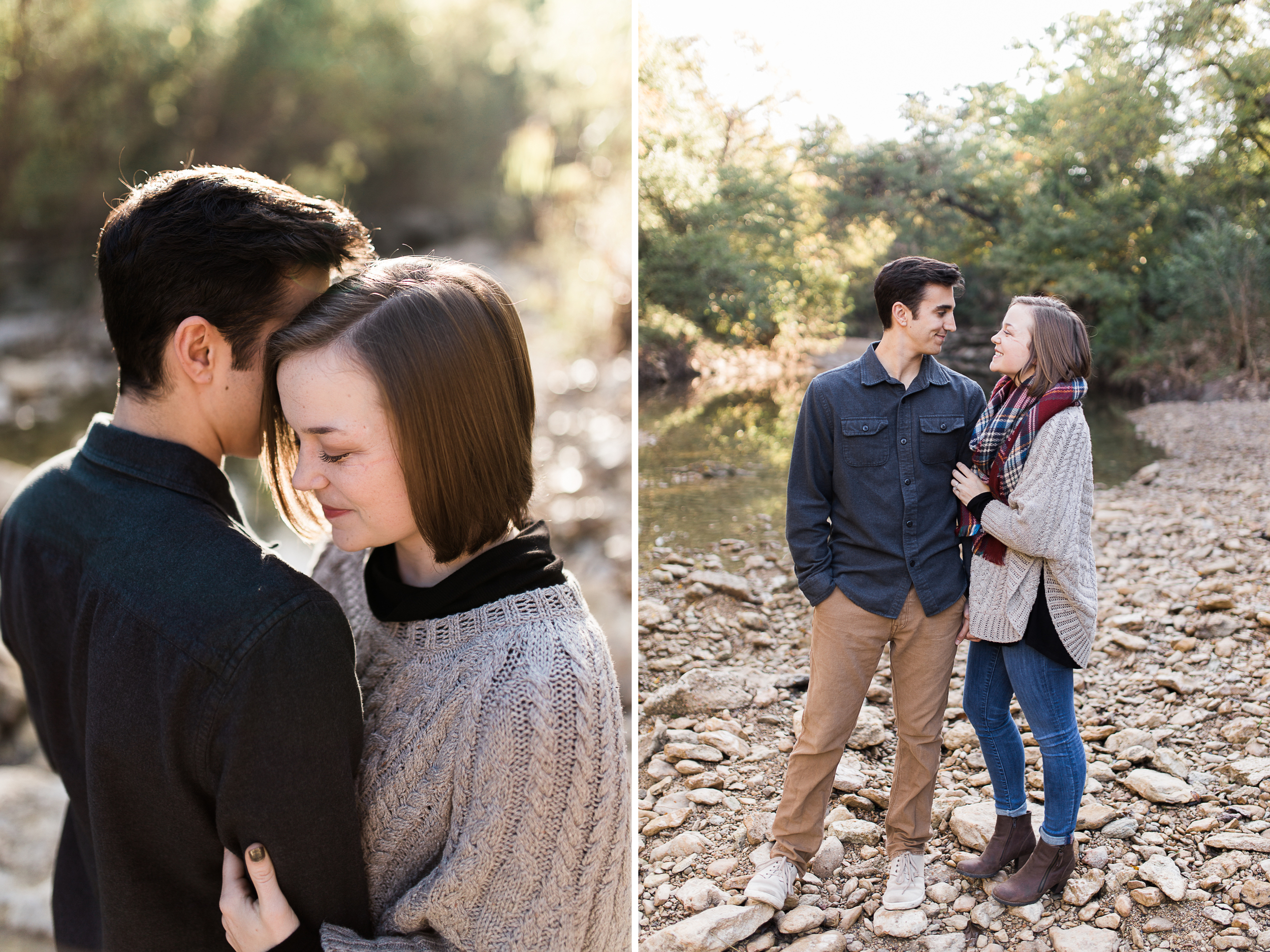 austin, texas hill country wedding engagement couple outdoor adventure photography