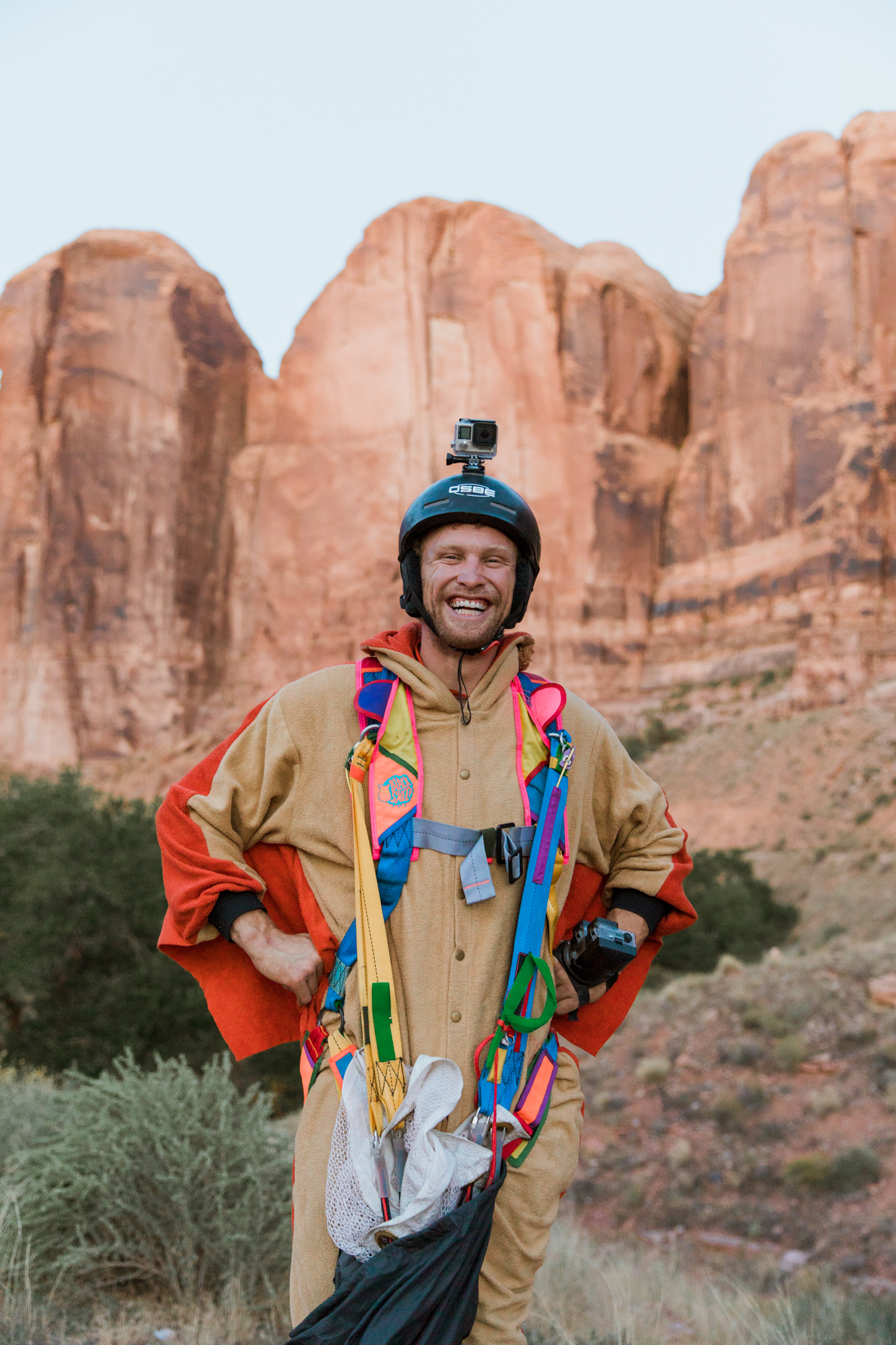 Sketchy Andy's 30th Birthday // BASE jumping in Moab, Utah // Outdoor Adventure Photographer // www.abbihearne.com