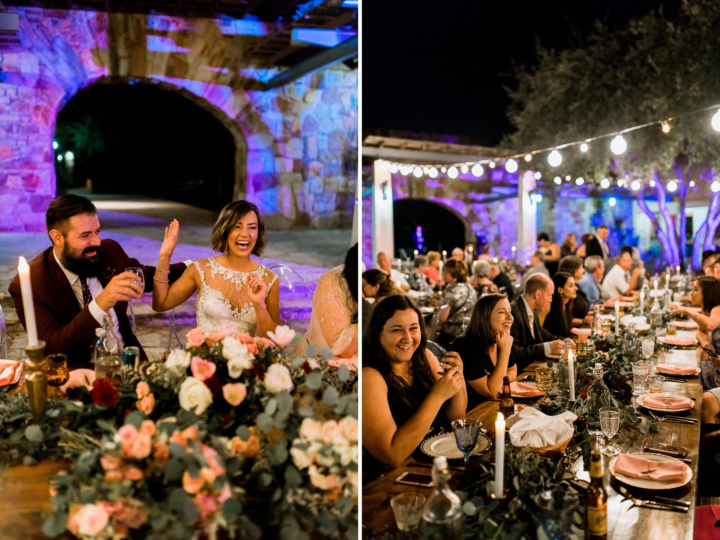 Fall Garden party wedding at Lady Bird Johnson Wildflower Center // austin, texas wedding photographer // www.abbihearne.com